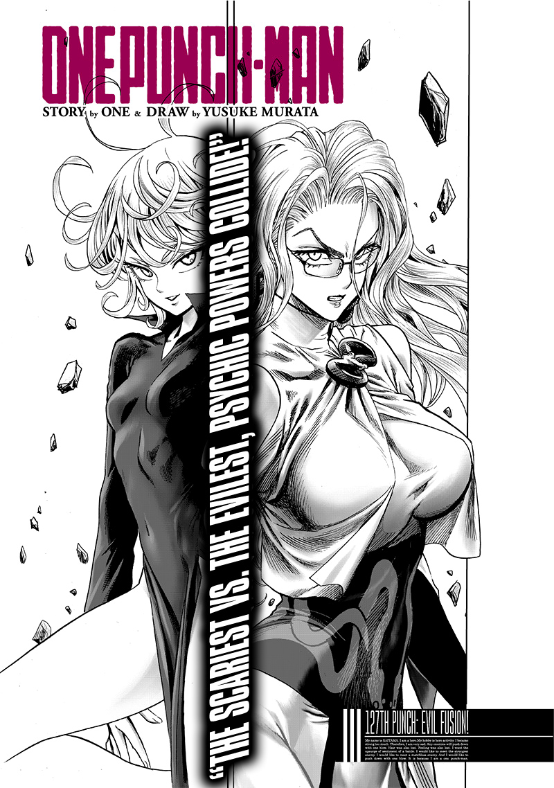 One Punch Man, Chapter 127 image 001