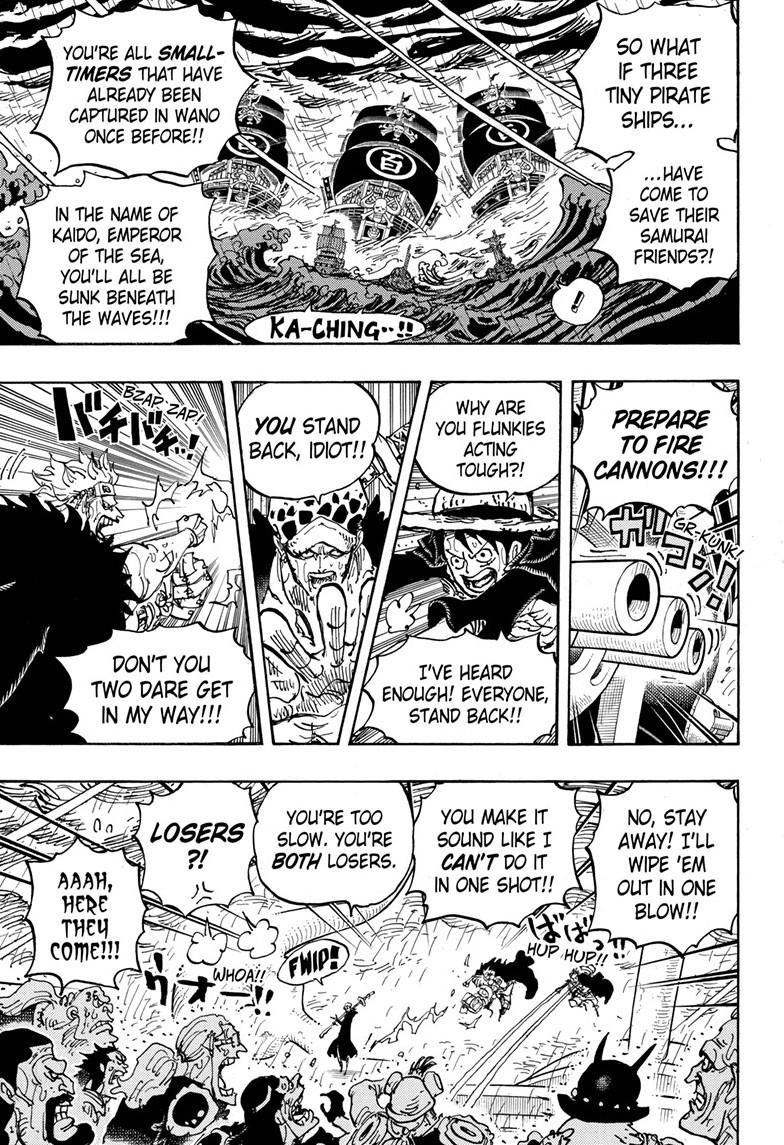 One Piece, Chapter 975 image 007
