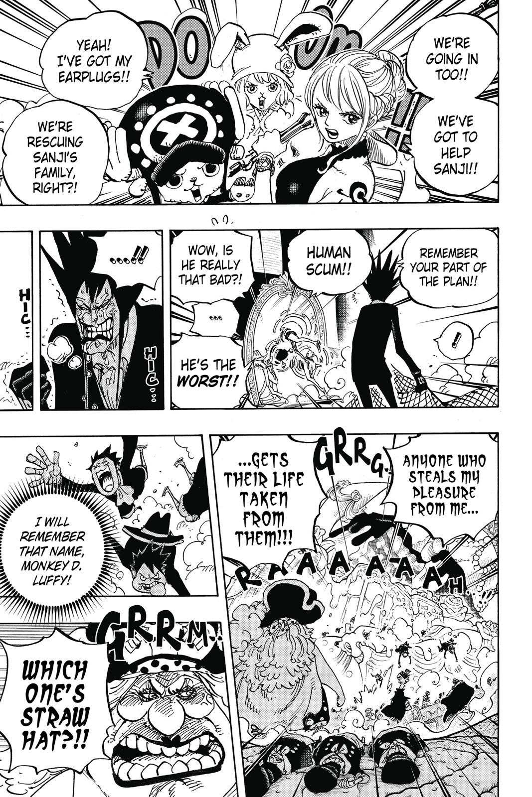 One Piece, Chapter 863 image 009