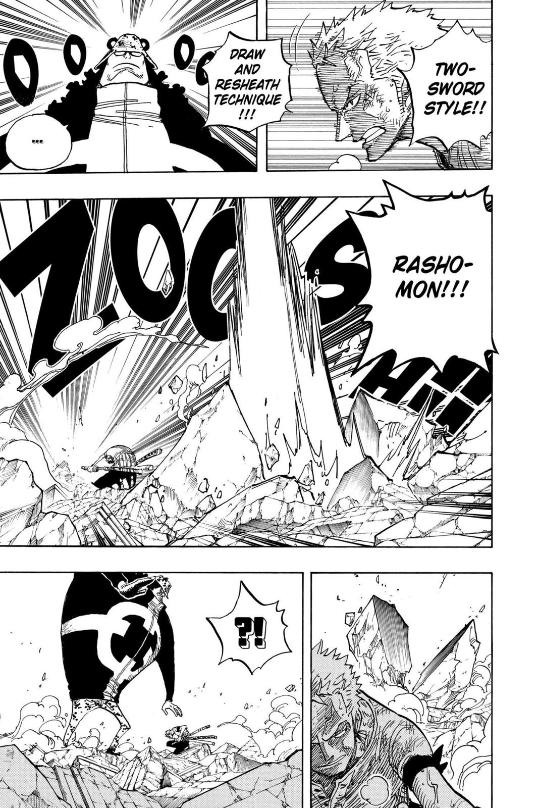 One Piece, Chapter 484 image 005