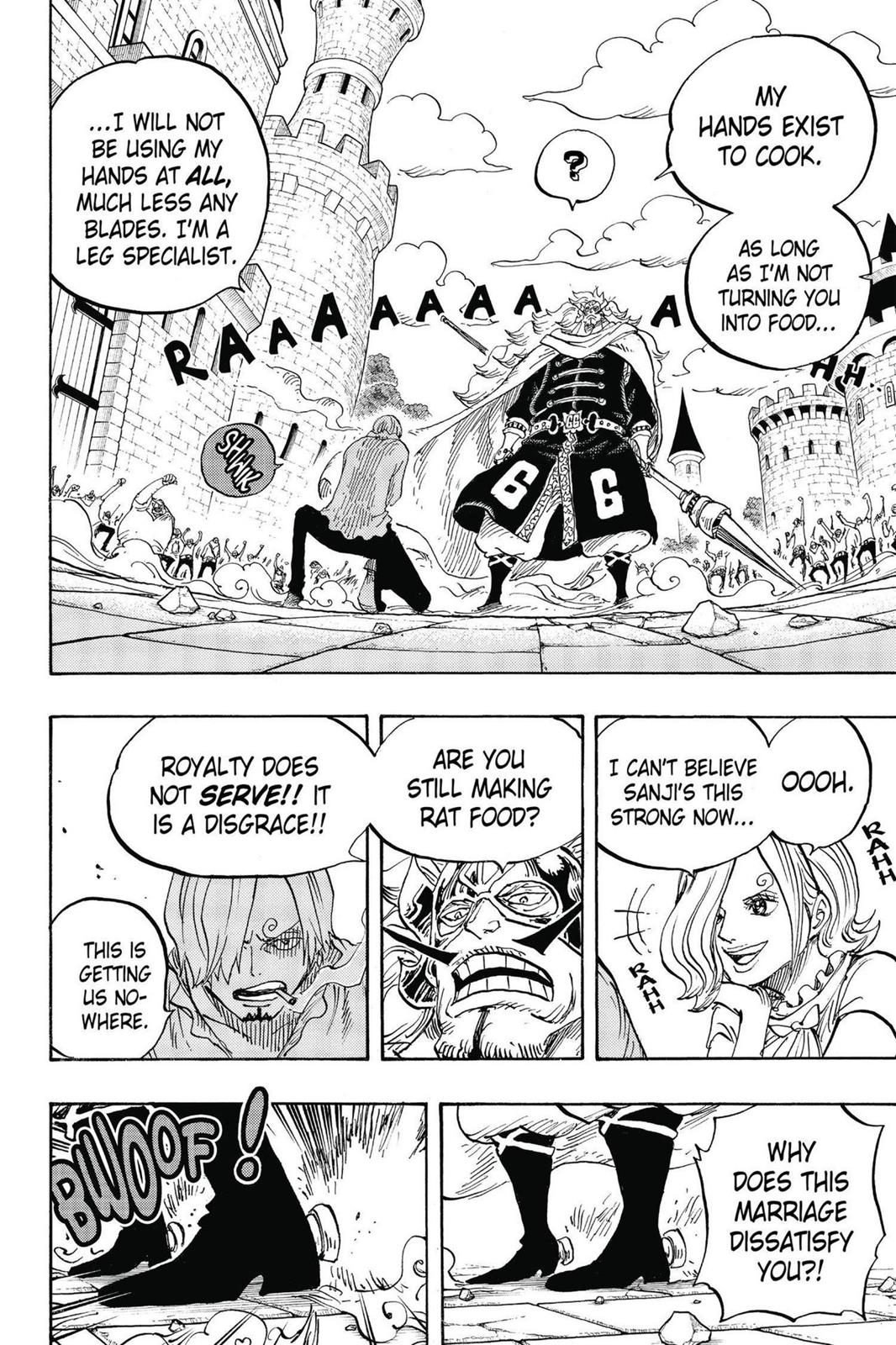 One Piece, Chapter 833 image 010