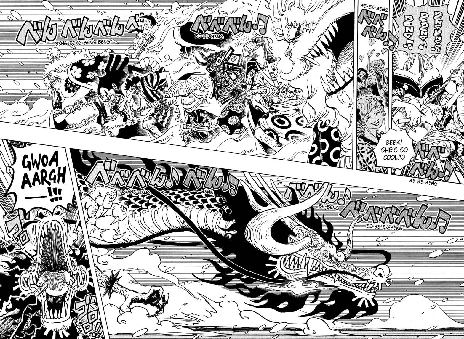 One Piece, Chapter 992 image 006