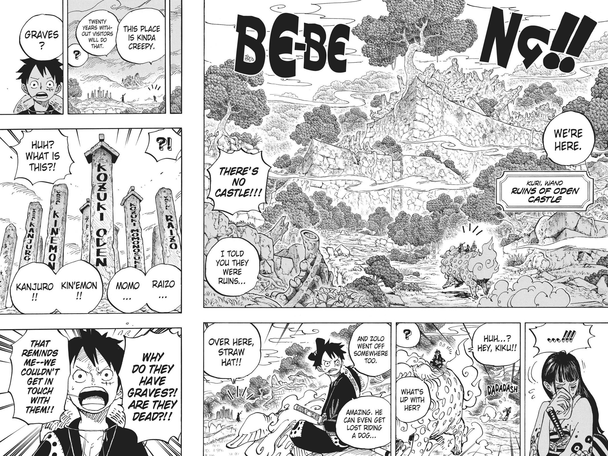 One Piece, Chapter 919 image 010