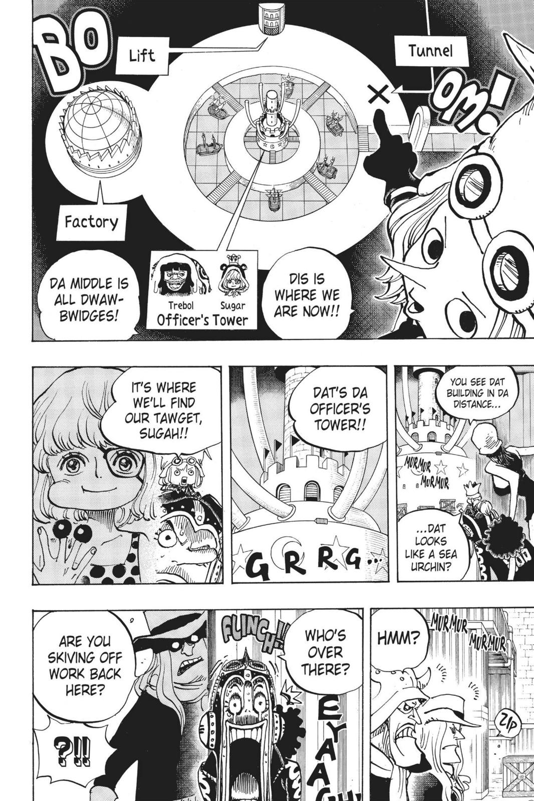 One Piece, Chapter 733 image 008