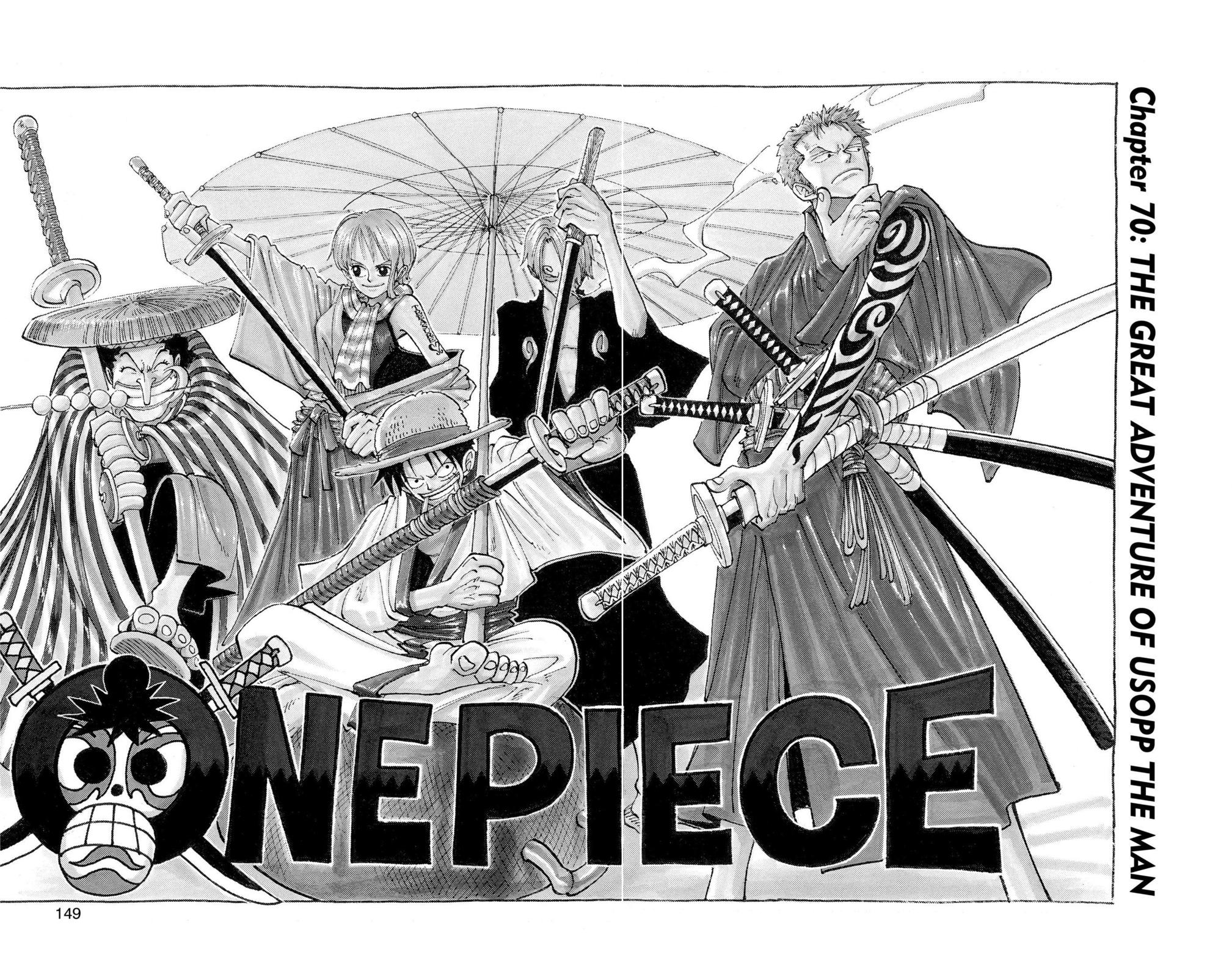One Piece, Chapter 70 image 002