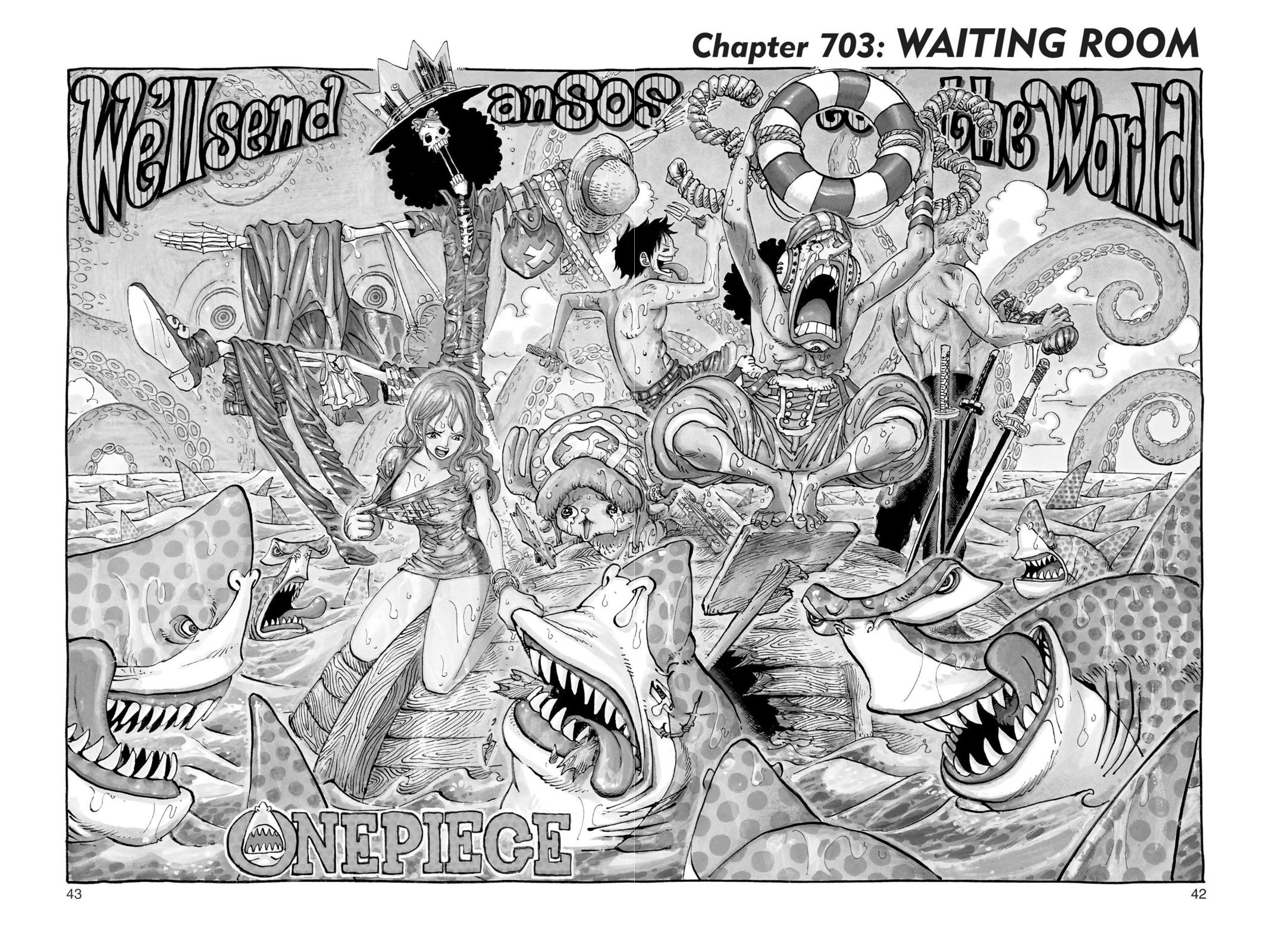 One Piece, Chapter 703 image 001