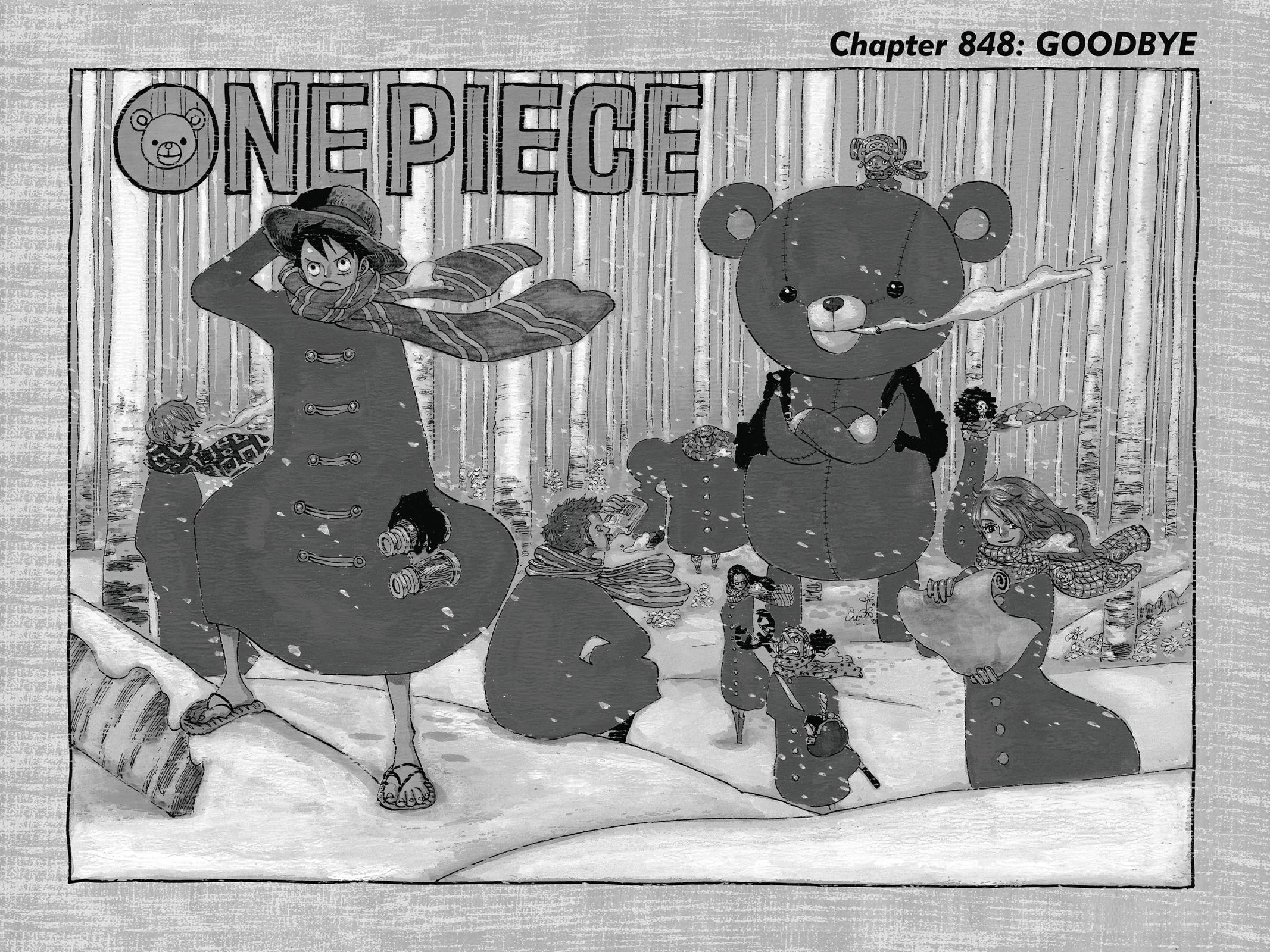 One Piece, Chapter 848 image 001