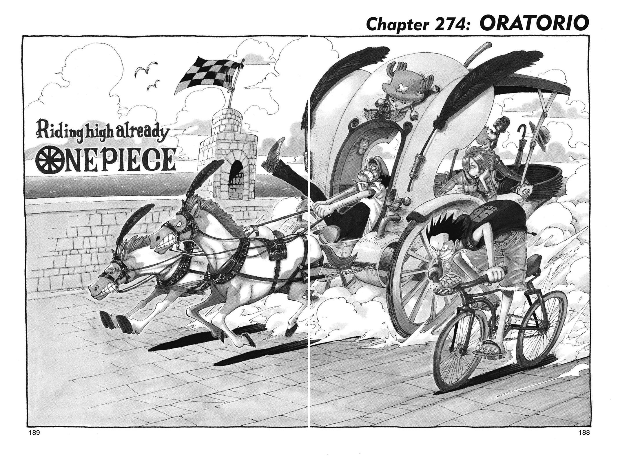 One Piece, Chapter 274 image 001