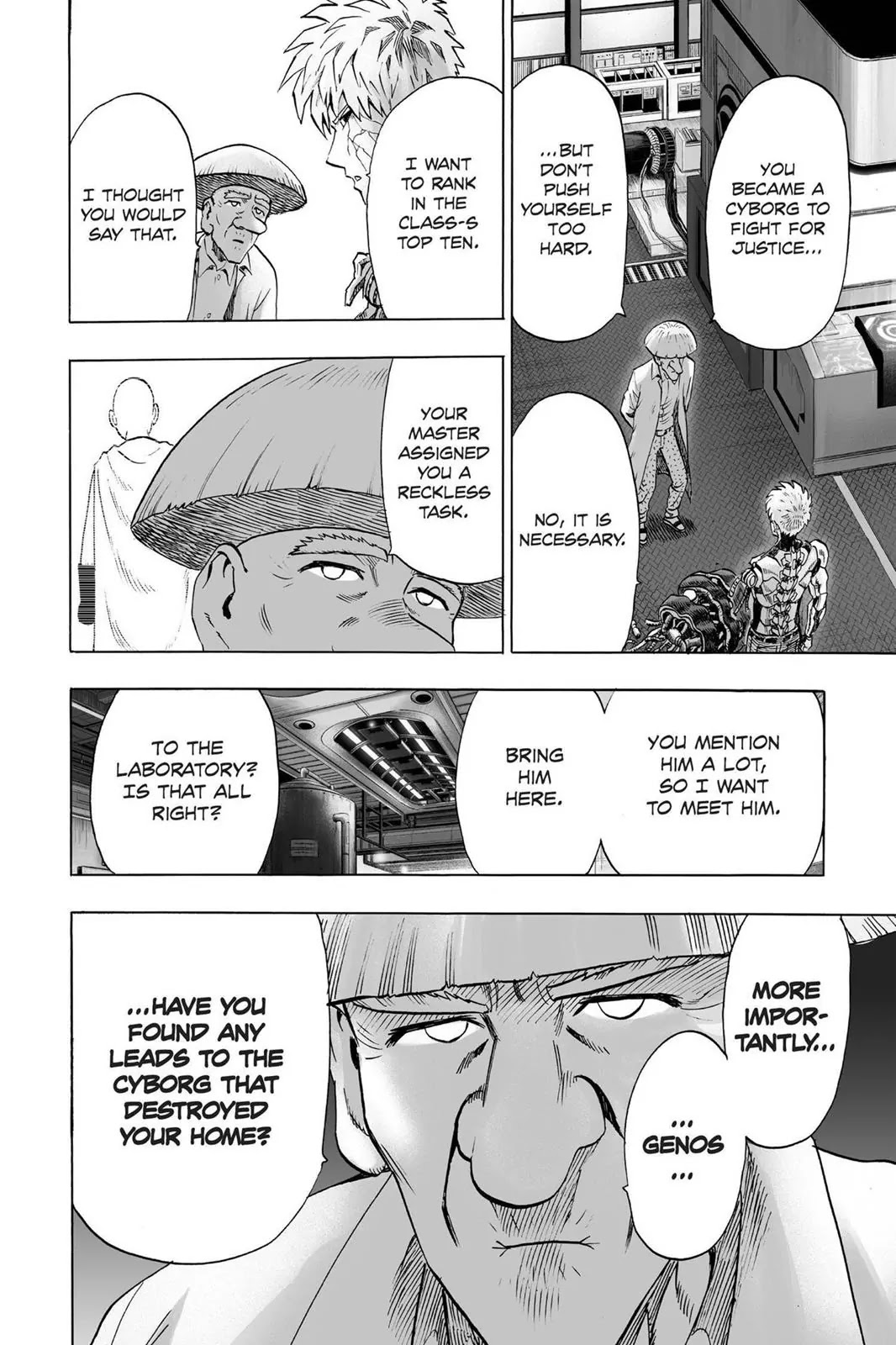 One Punch Man, Chapter Onepunch-Man 40 image 004