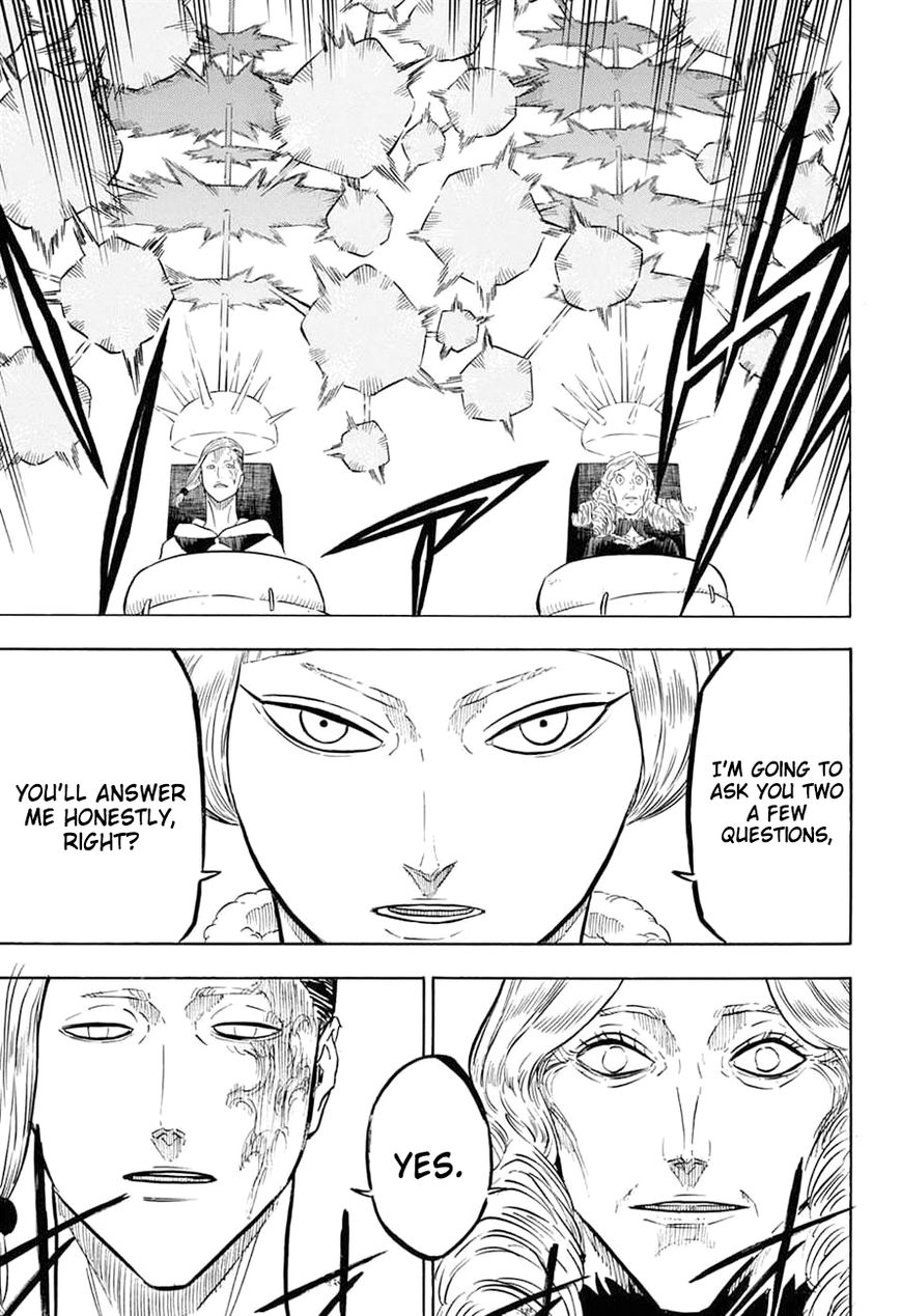 Black Clover, Chapter 54 A meeting of the magic knight captains image 006