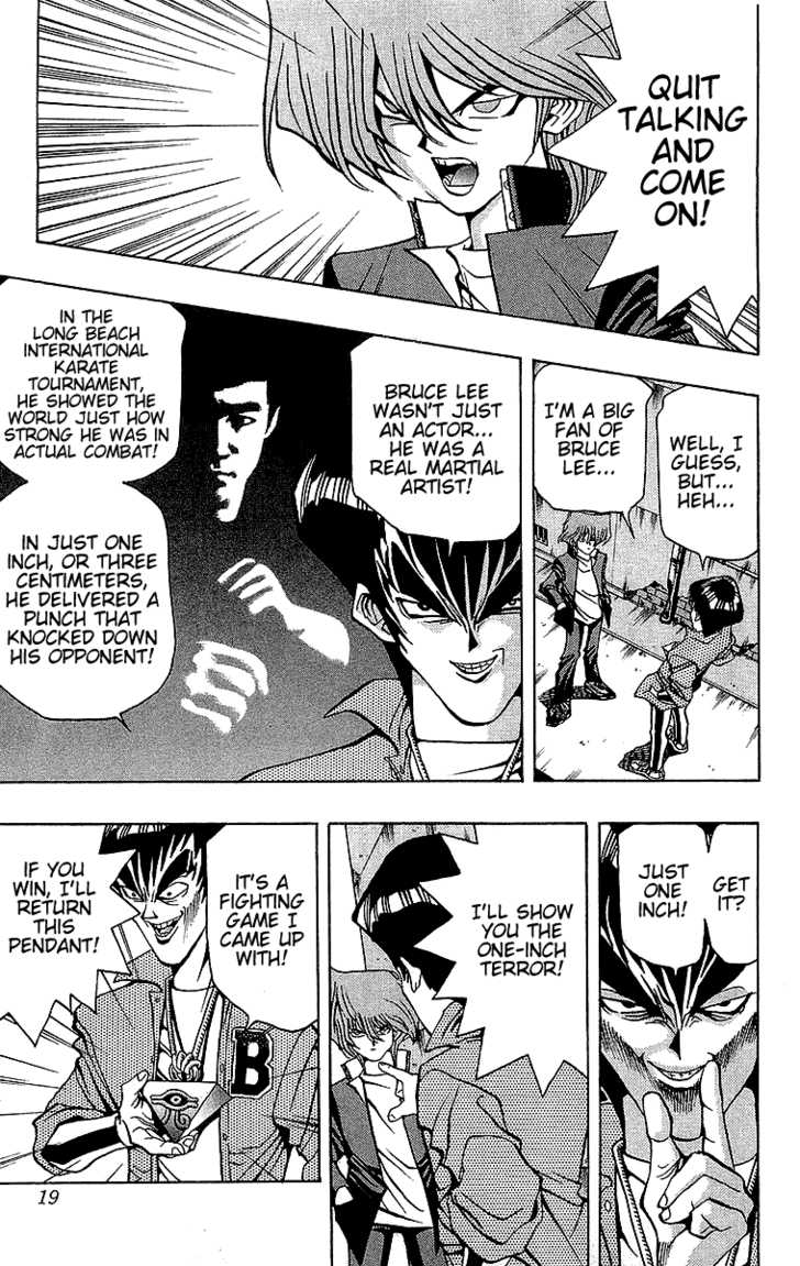 Yu Gi Oh, Chapter Vol.04 Ch.025 - The One-Inch Terror image 020