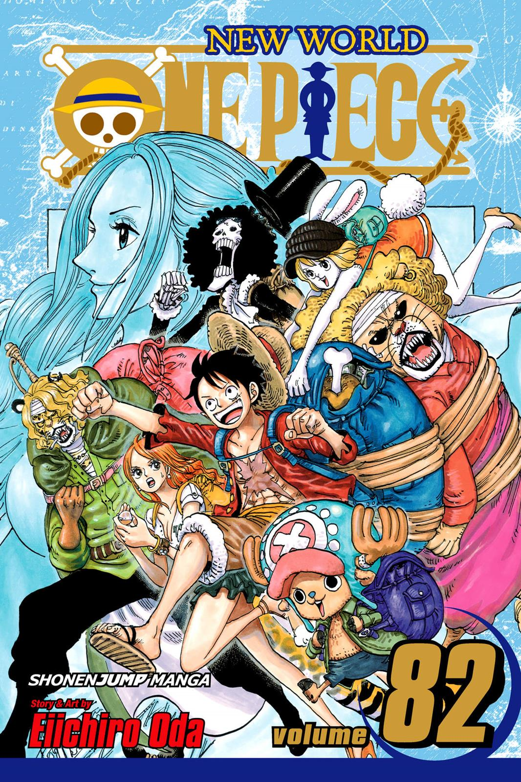 One Piece, Chapter 817 image 001
