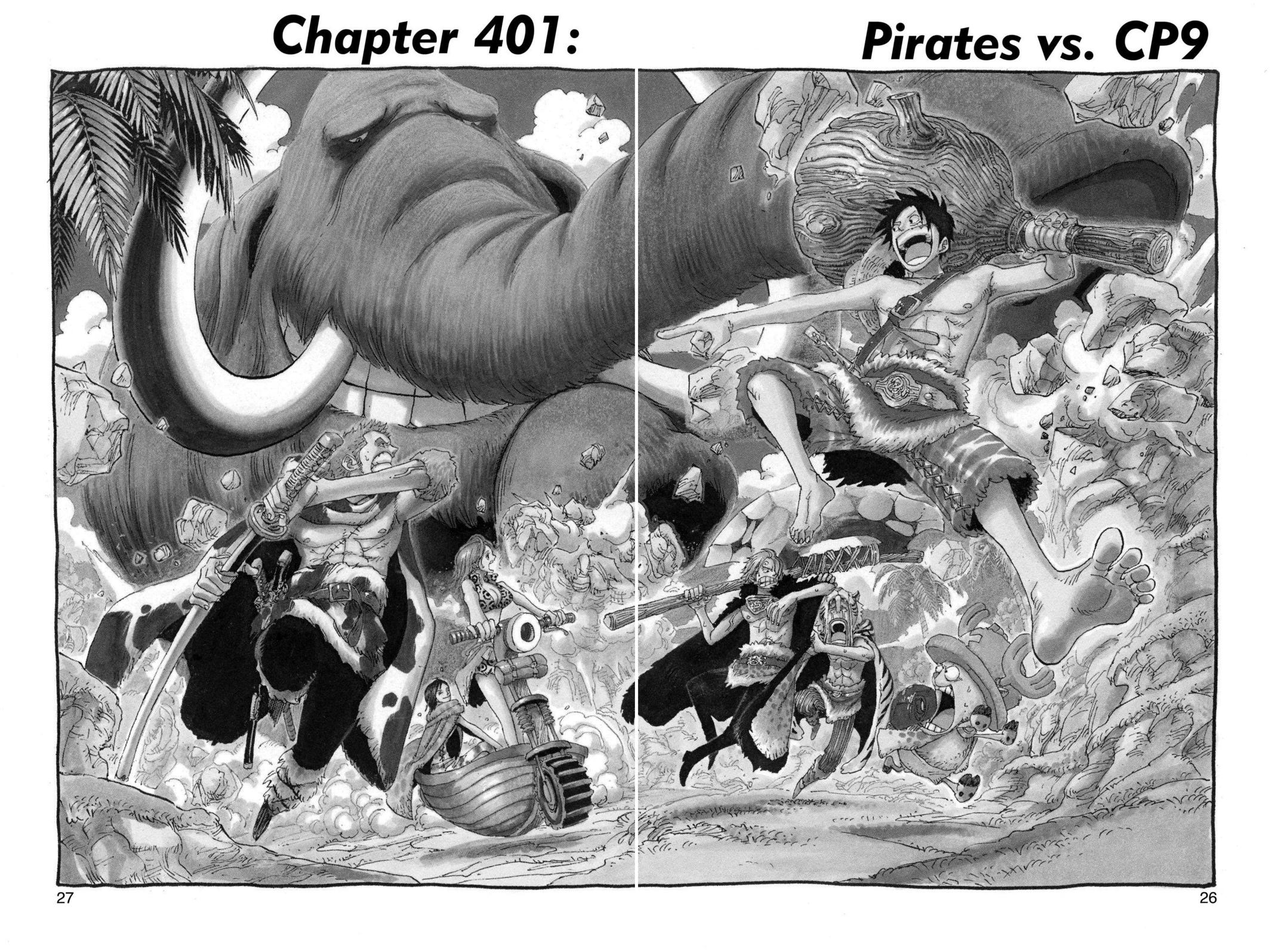 One Piece, Chapter 401 image 001