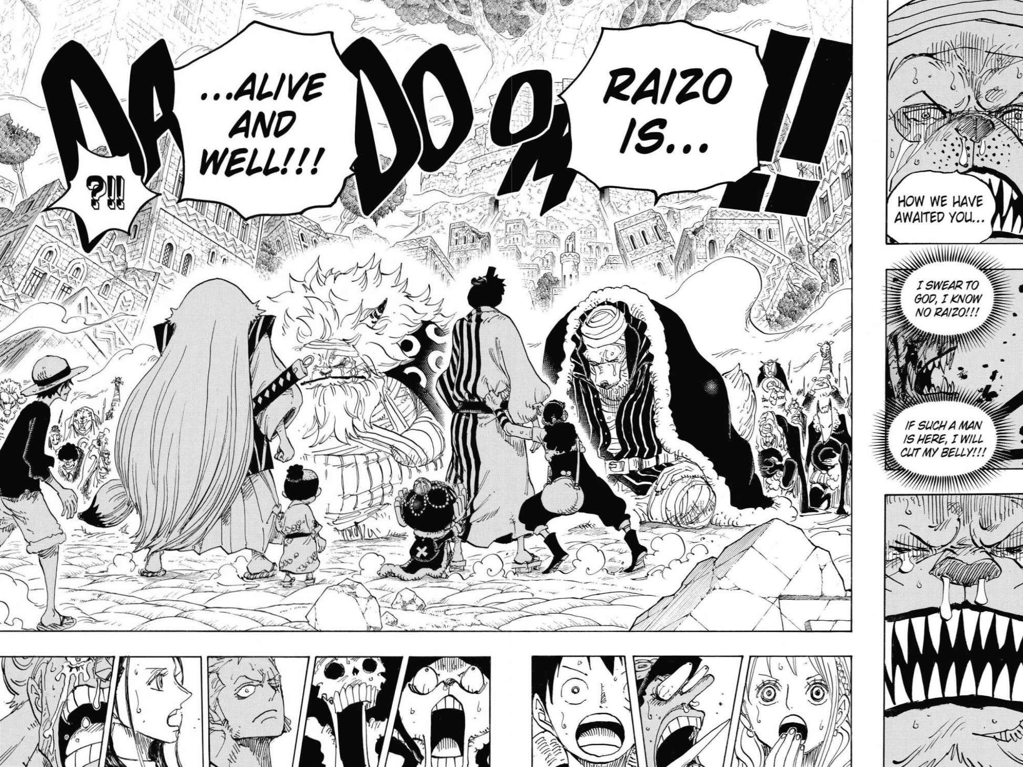 One Piece, Chapter 816 image 014