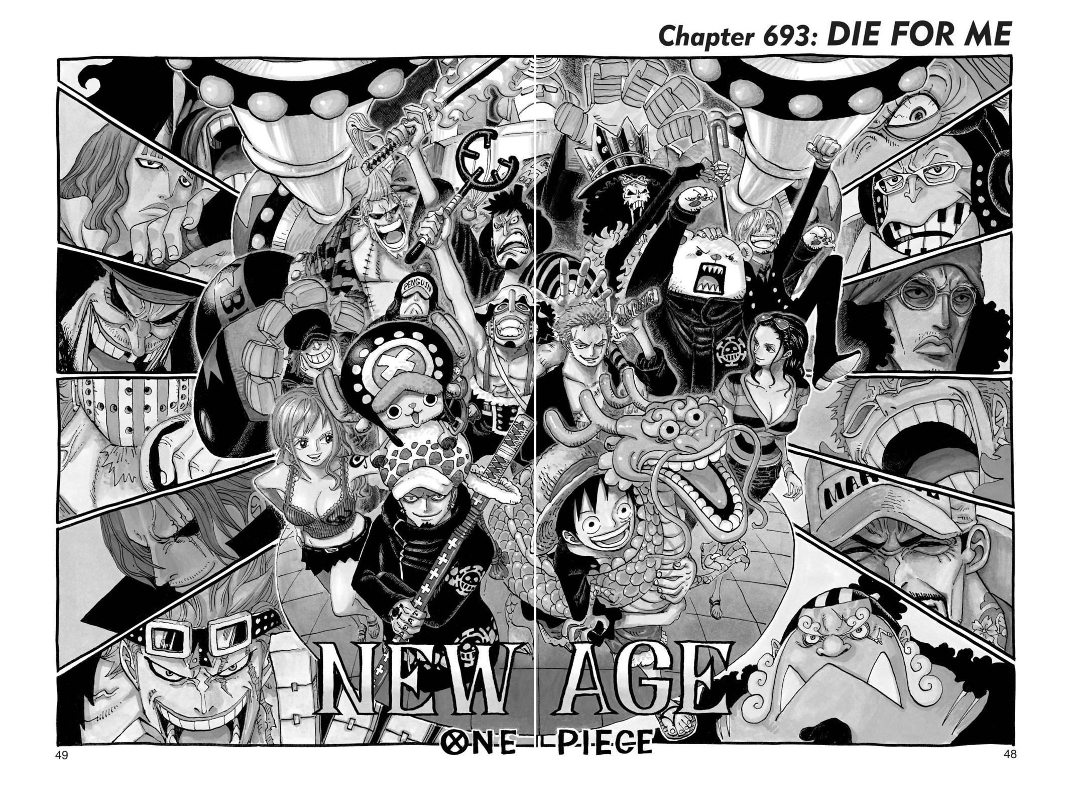 One Piece, Chapter 693 image 001