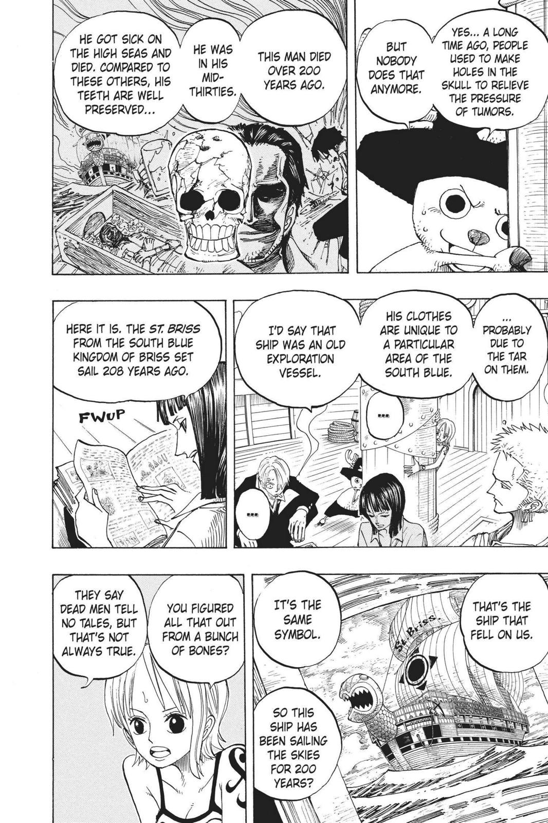 One Piece, Chapter 219 image 006