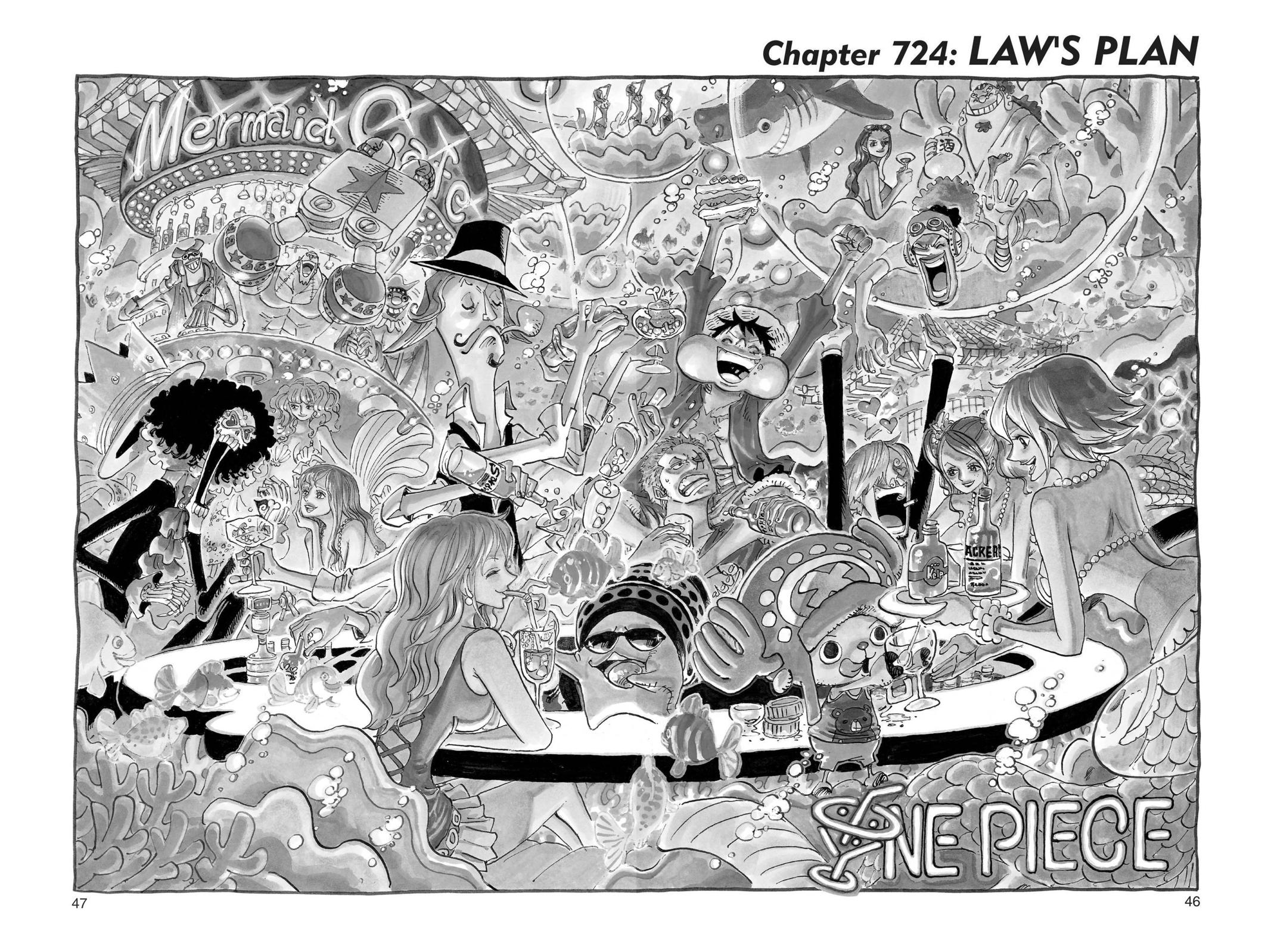 One Piece, Chapter 724 image 001