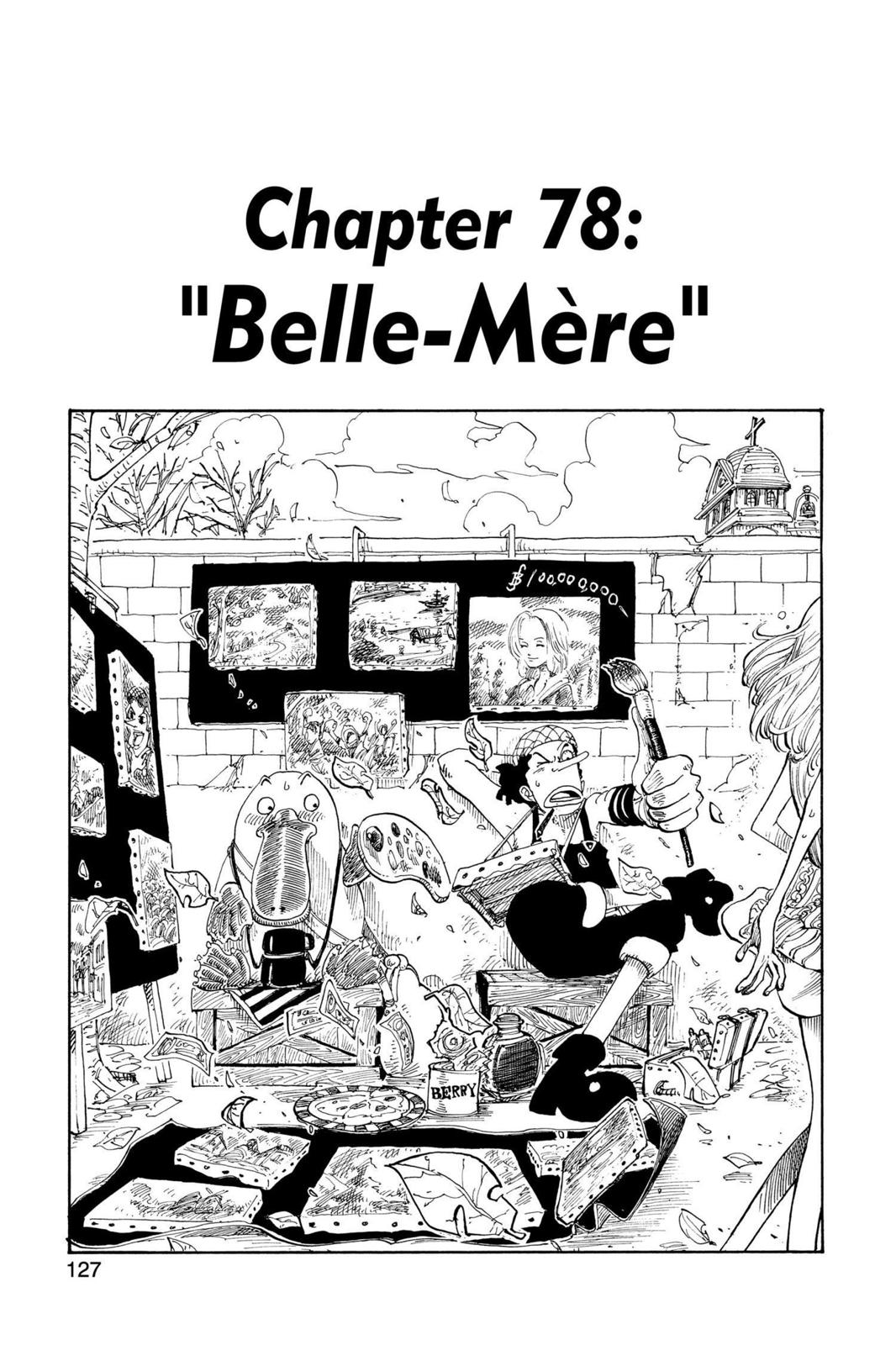 One Piece, Chapter 78 image 001