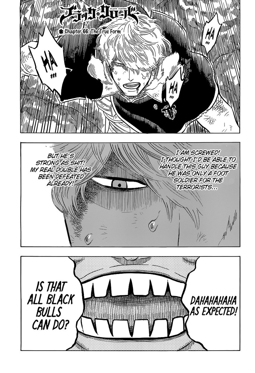Black Clover, Chapter 66 the true form image 002