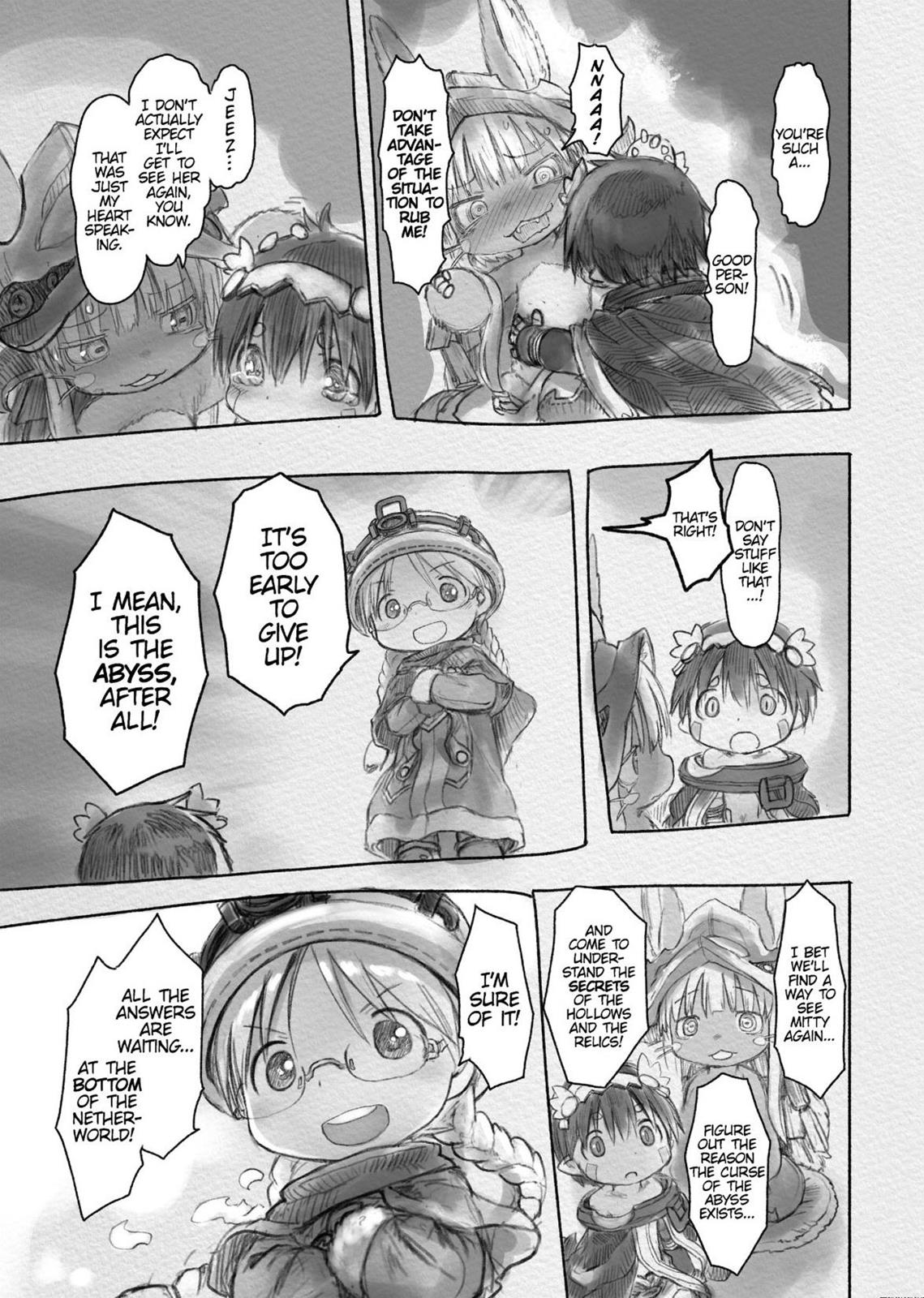 Made In Abyss, Chapter Hello,Abyss 28 image 010