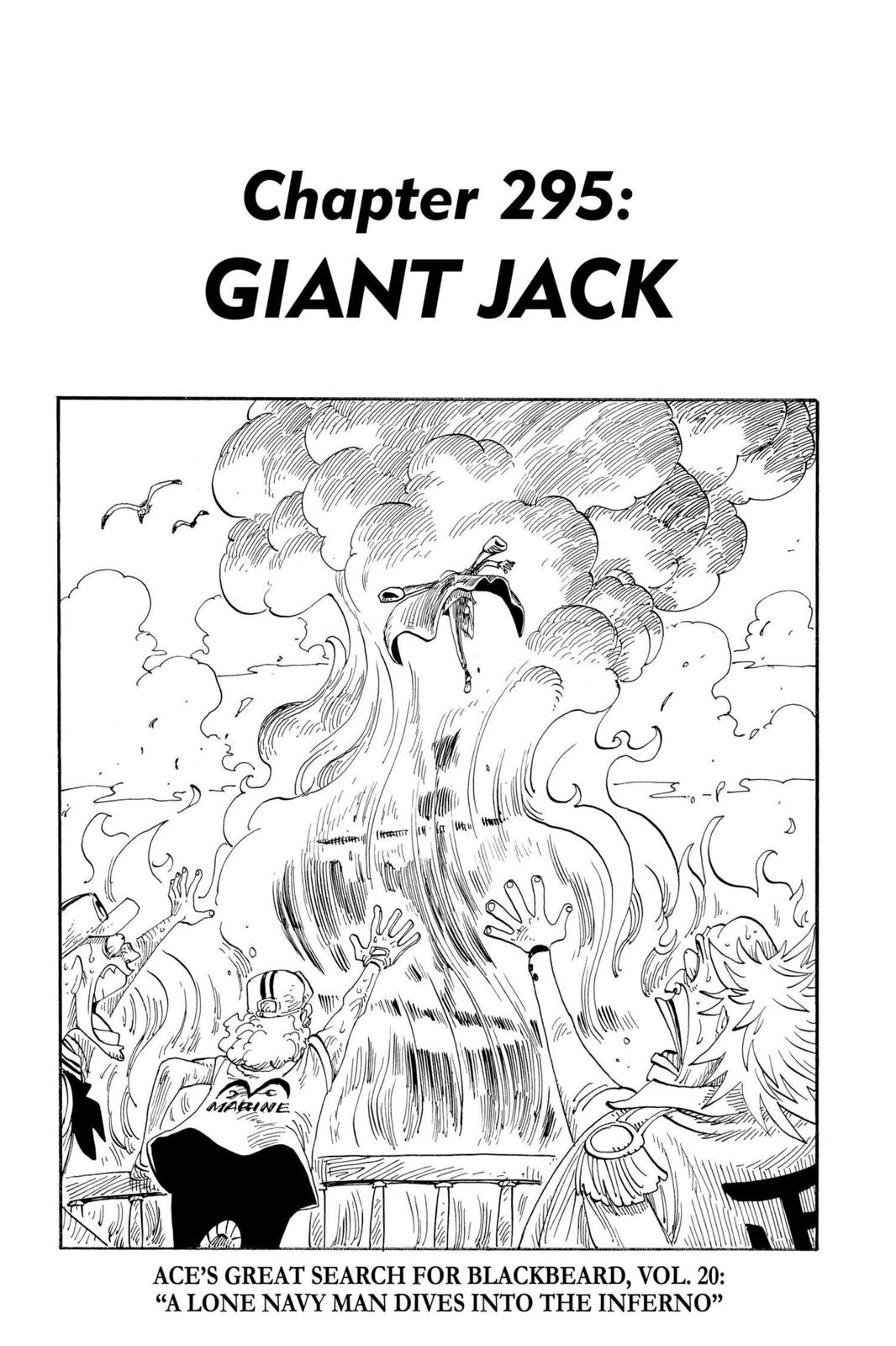 One Piece, Chapter 295 image 001
