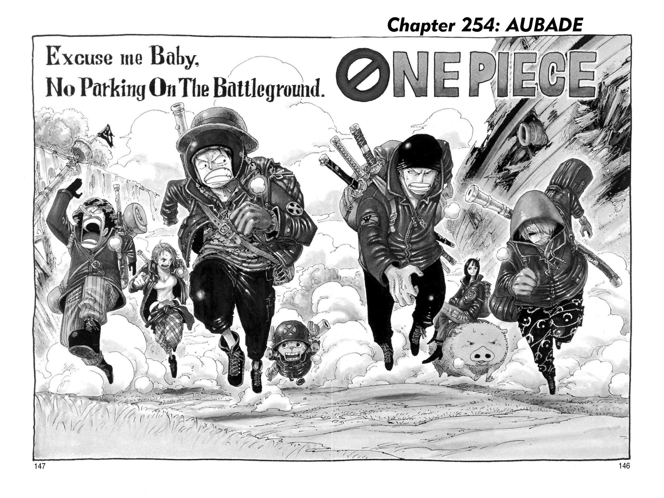 One Piece, Chapter 254 image 001