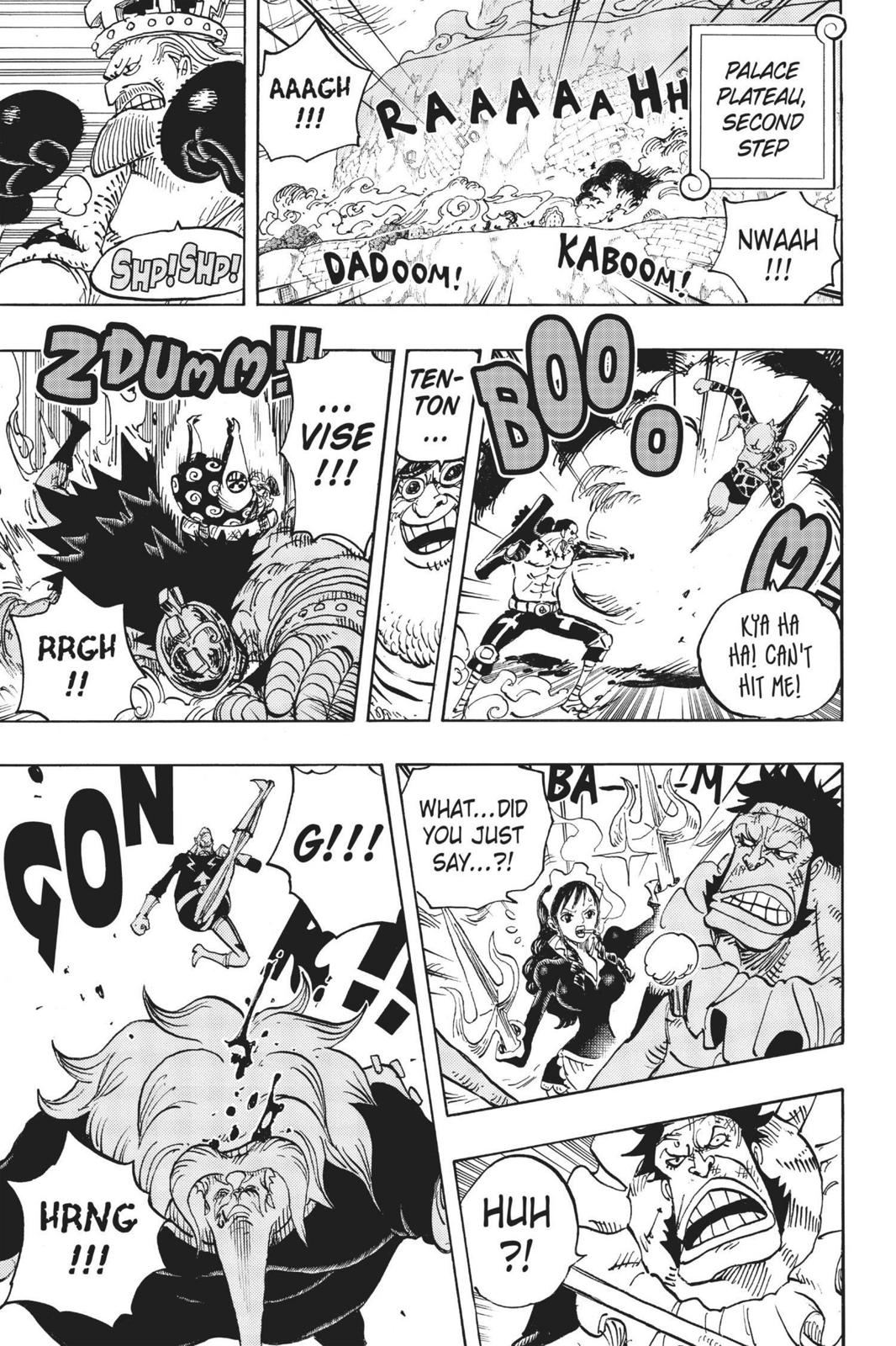 One Piece, Chapter 768 image 010