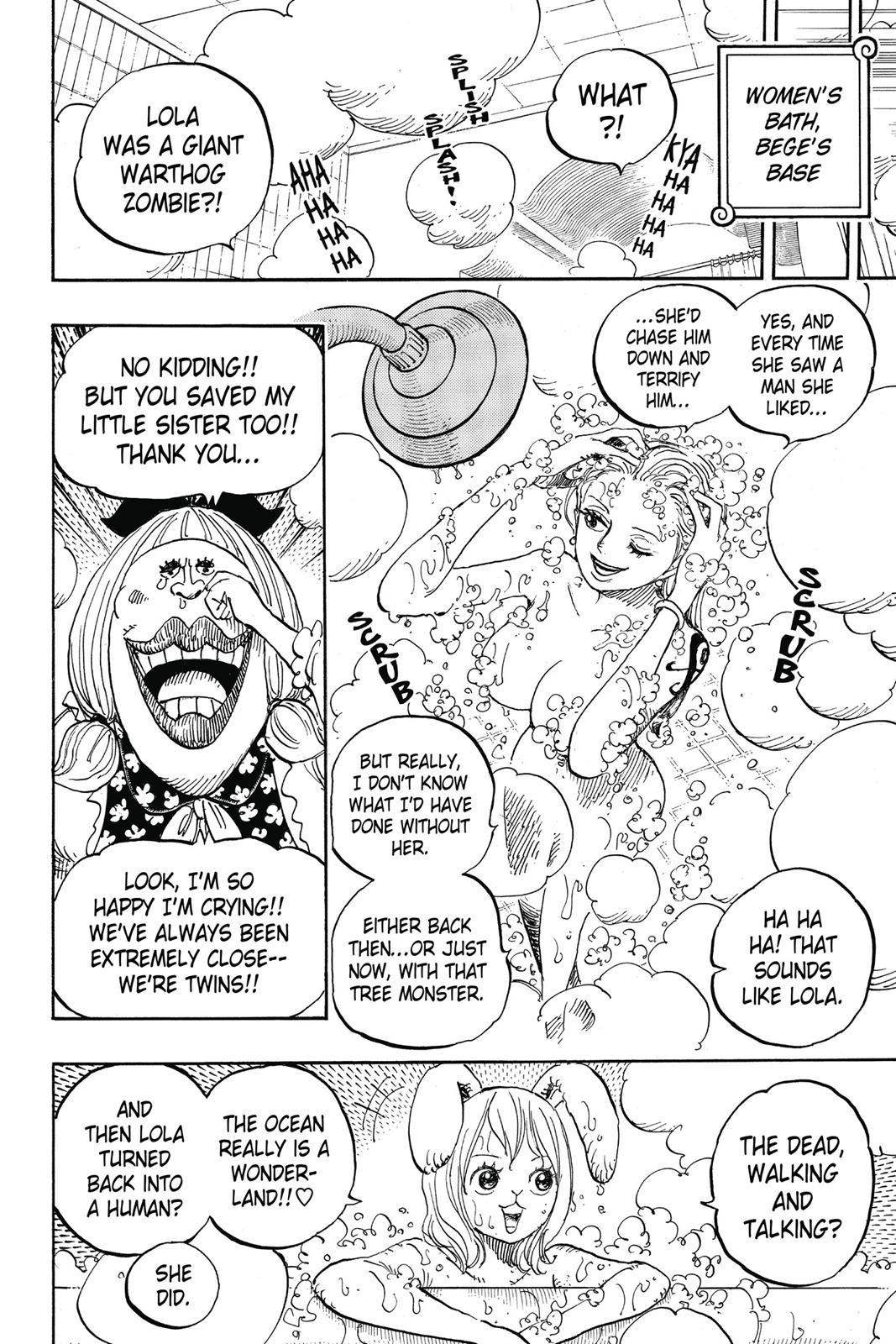 One Piece, Chapter 858 image 007
