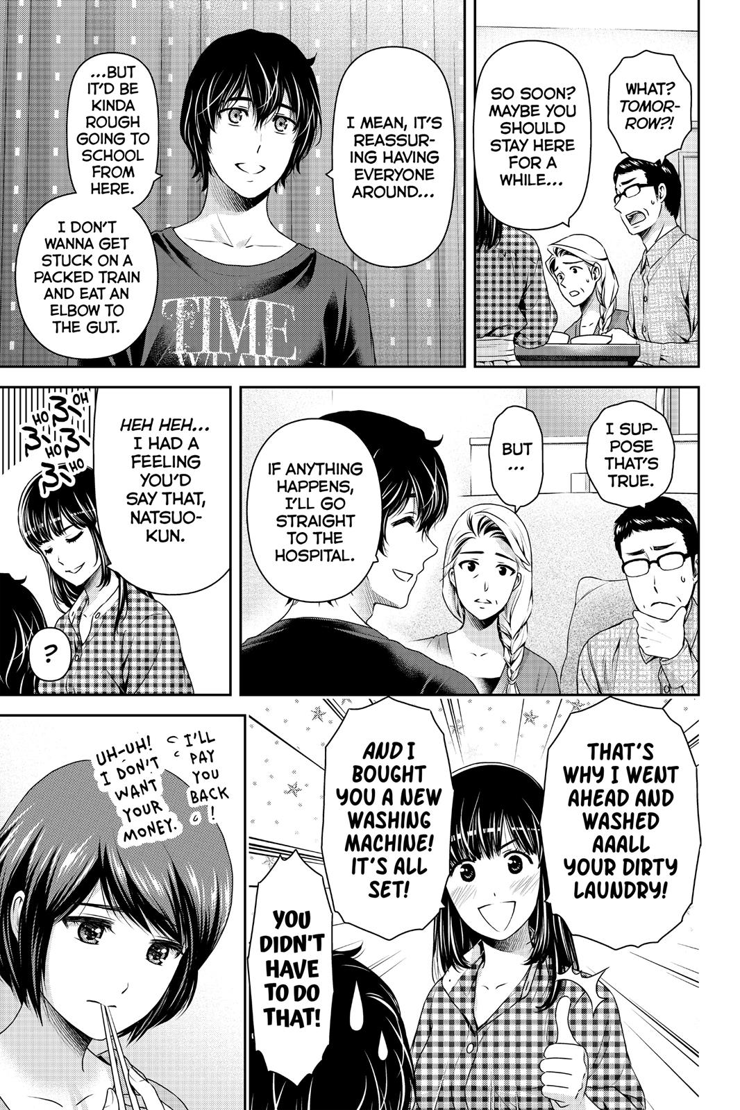 Domestic Na Kanojo, Chapter 193 image 017