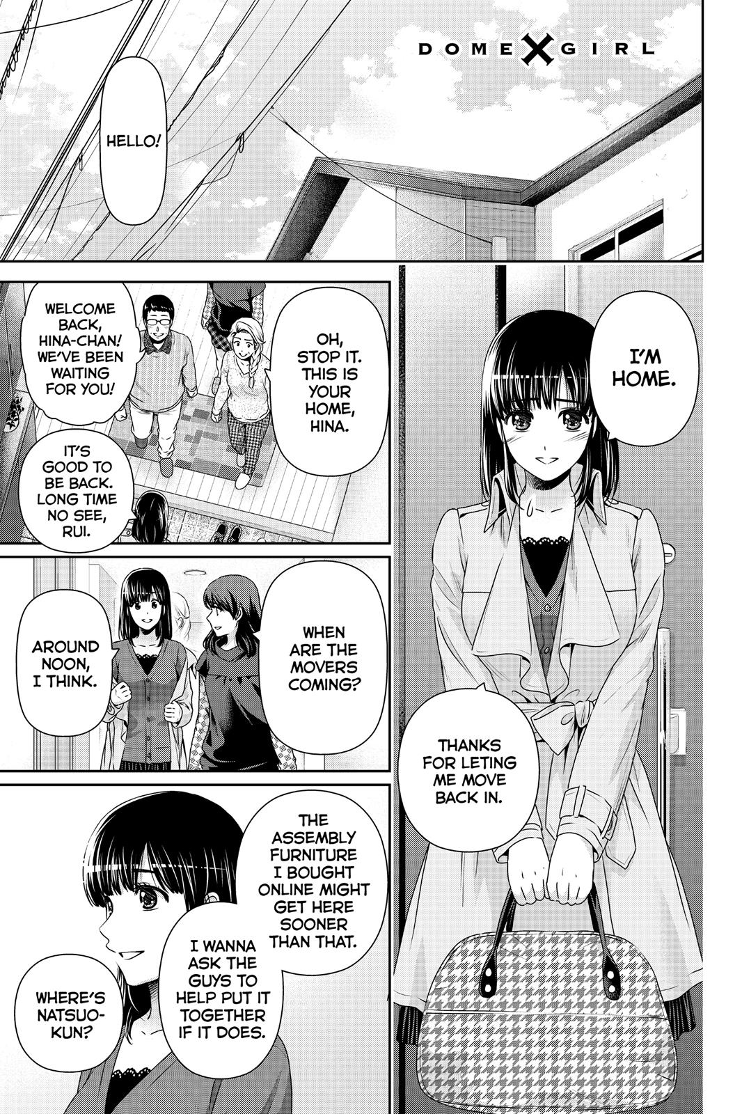 Domestic Na Kanojo, Chapter 138 image 001