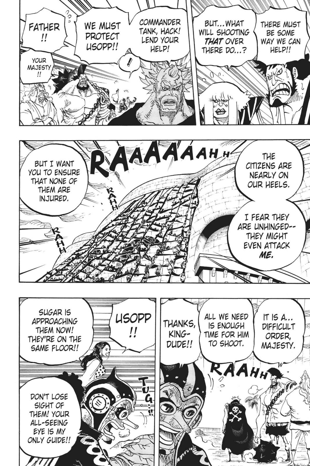 One Piece, Chapter 758 image 008
