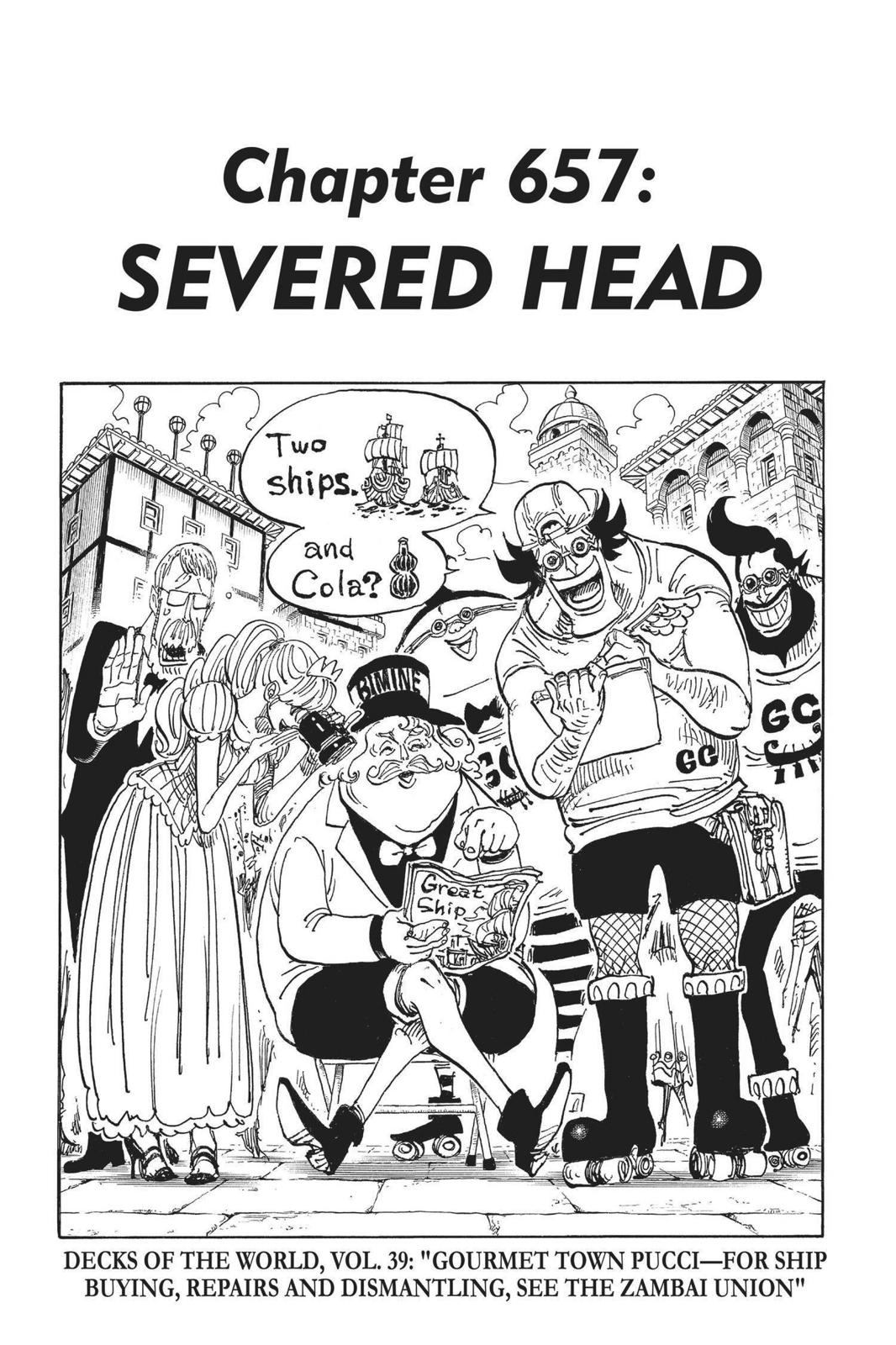 One Piece, Chapter 657 image 007