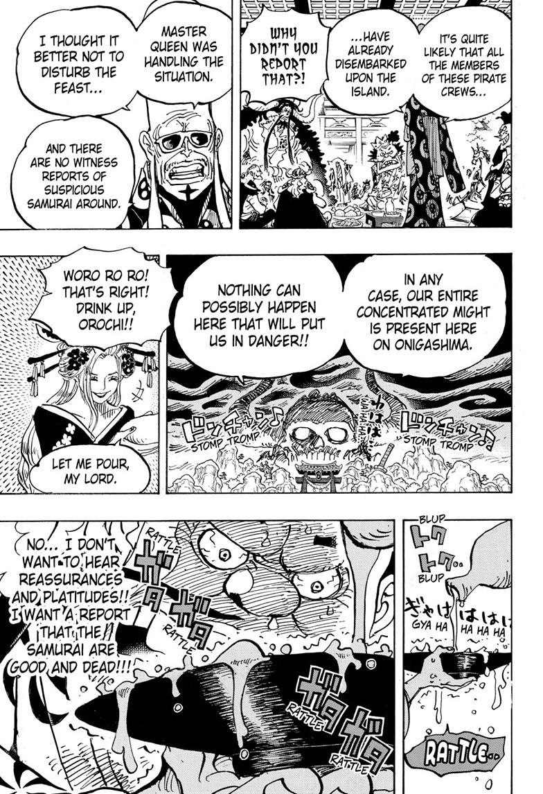 One Piece, Chapter 982 image 007