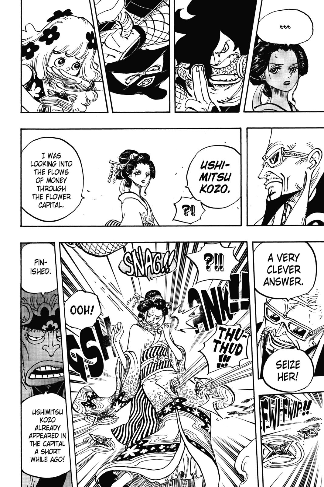 One Piece, Chapter 932 image 010