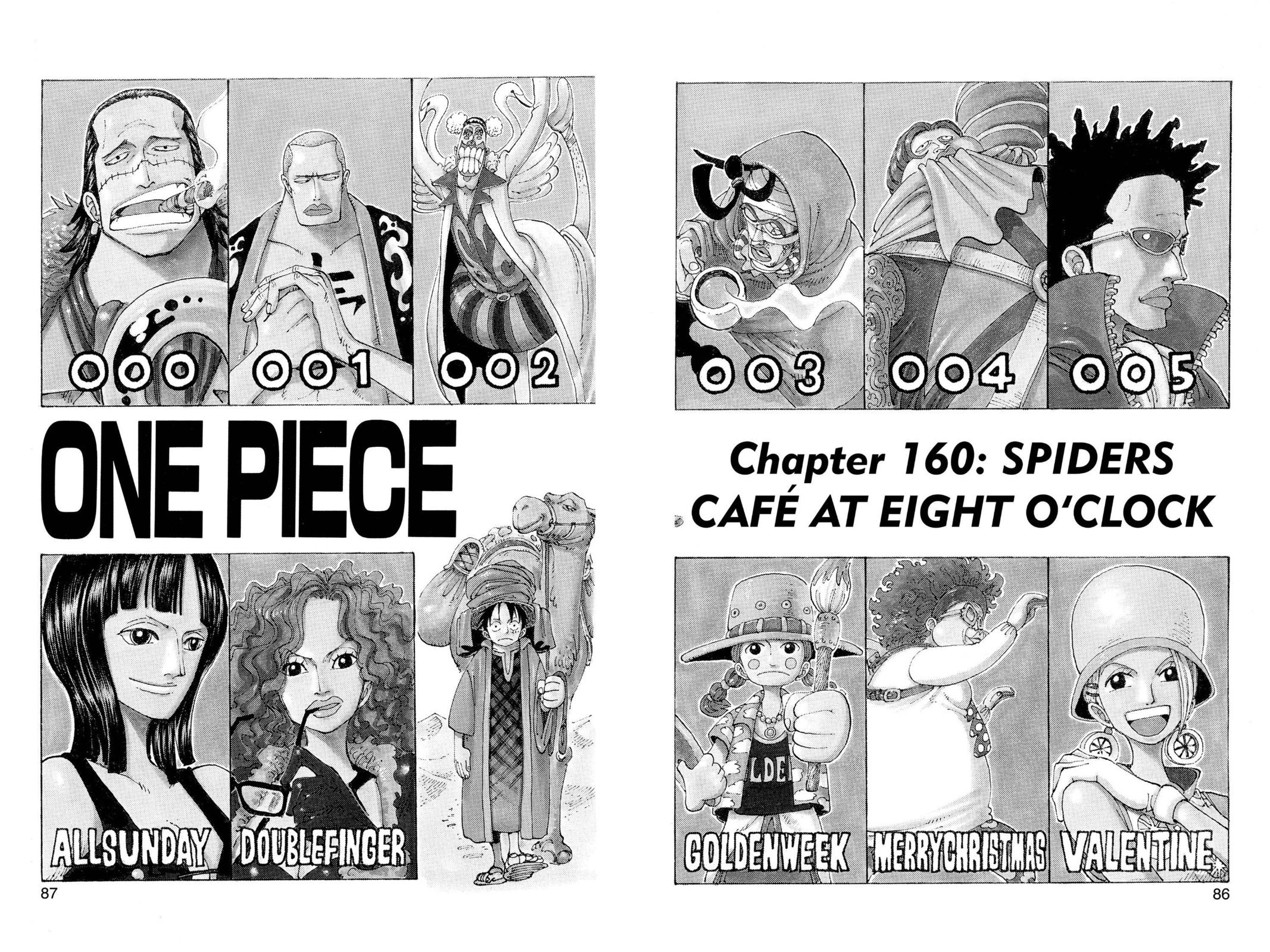 One Piece, Chapter 160 image 001