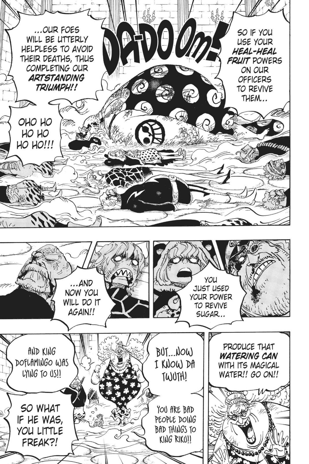One Piece, Chapter 774 image 006