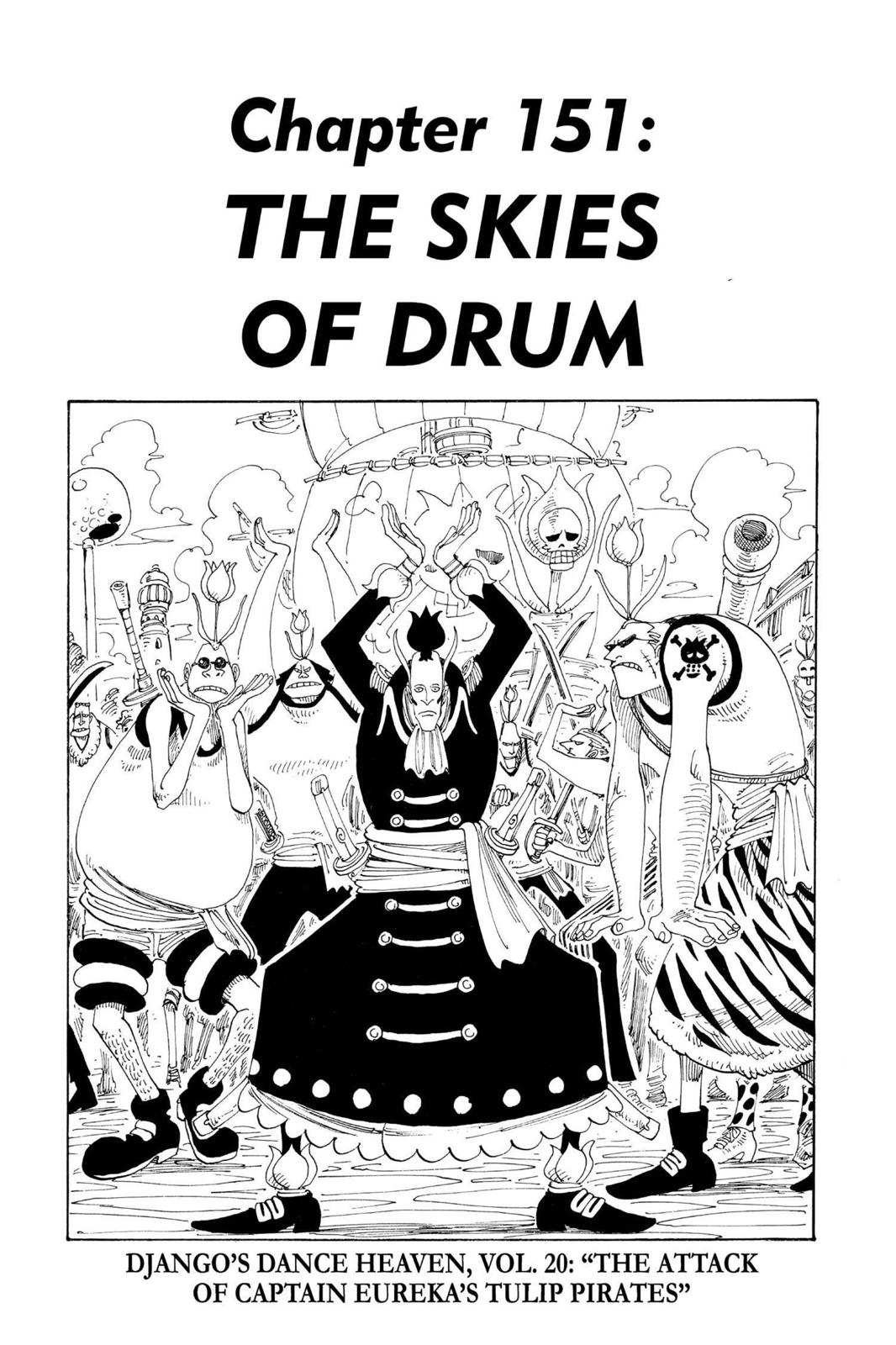 One Piece, Chapter 151 image 001