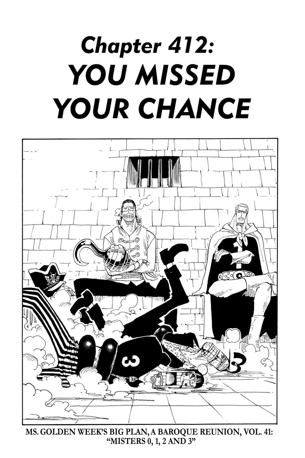 One Piece, Chapter 412 image 001