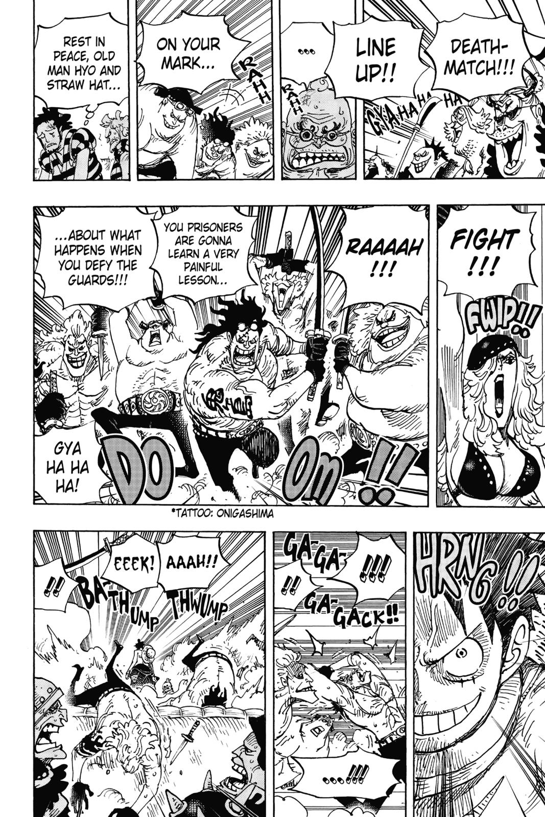 One Piece, Chapter 936 image 008