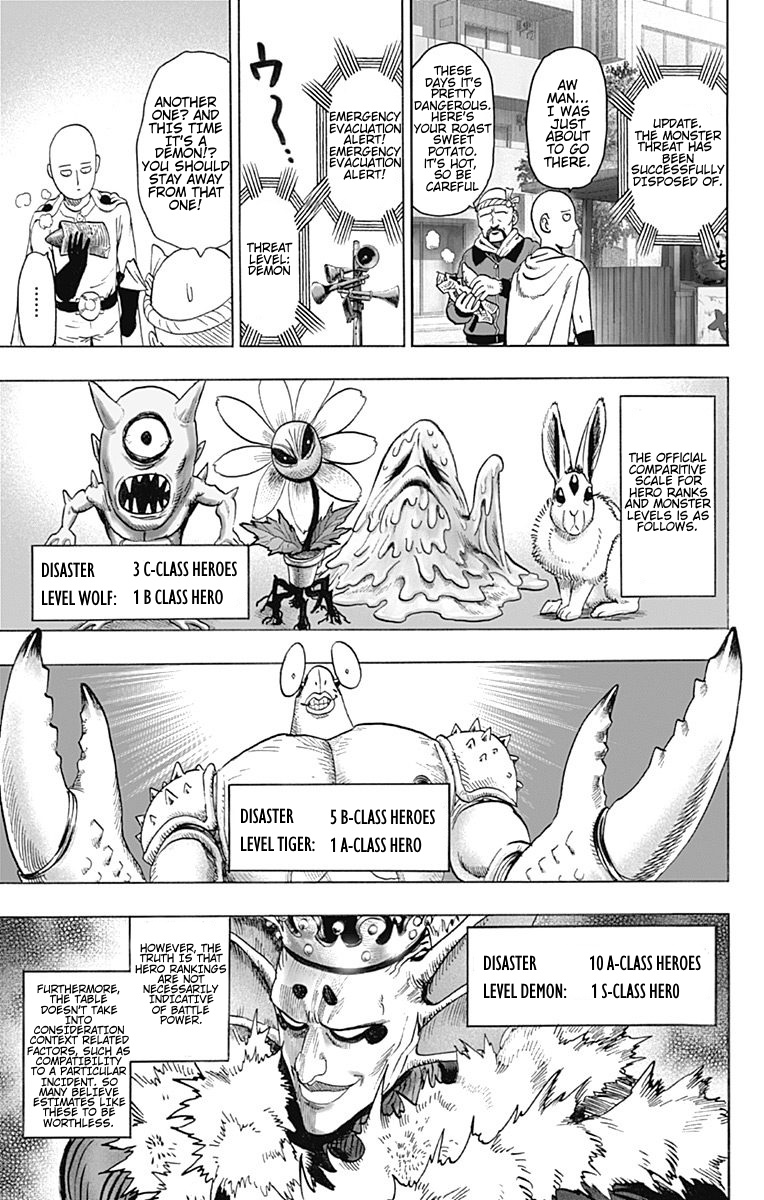 One Punch Man, Chapter One-Punch Man 80.5 image 005