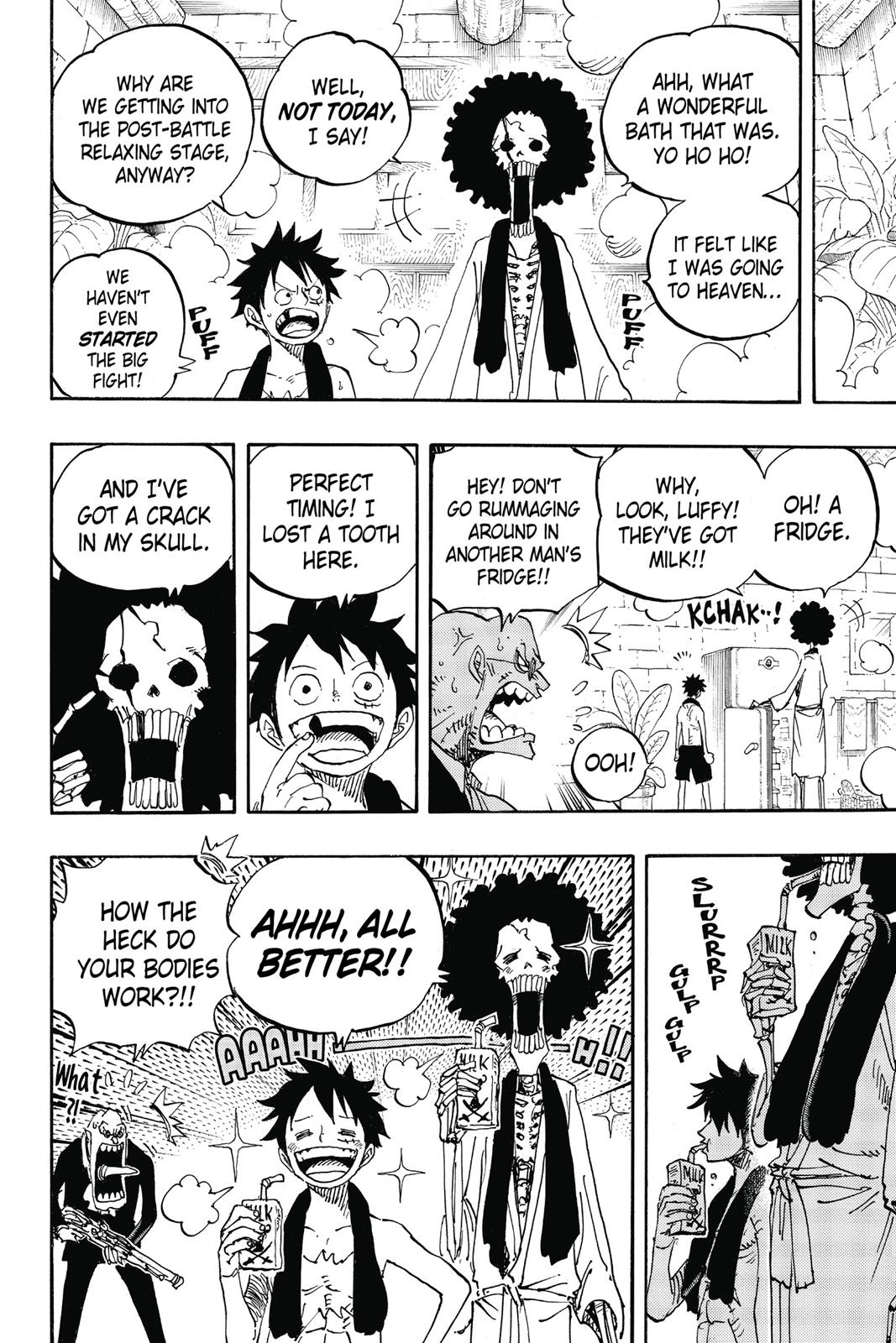 One Piece, Chapter 858 image 011