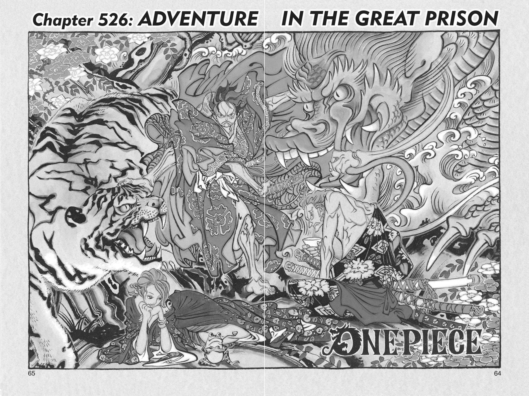 One Piece, Chapter 526 image 001