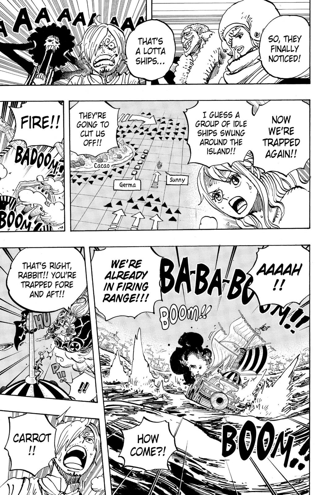 One Piece, Chapter 899 image 013