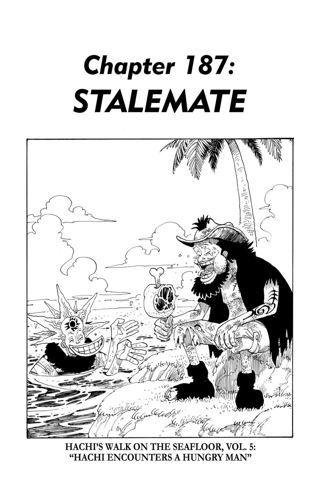 One Piece, Chapter 187 image 008