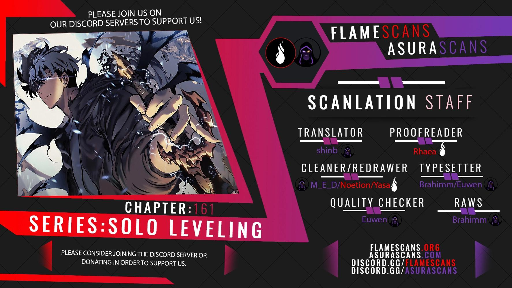 Solo Leveling, Chapter 161 image 001