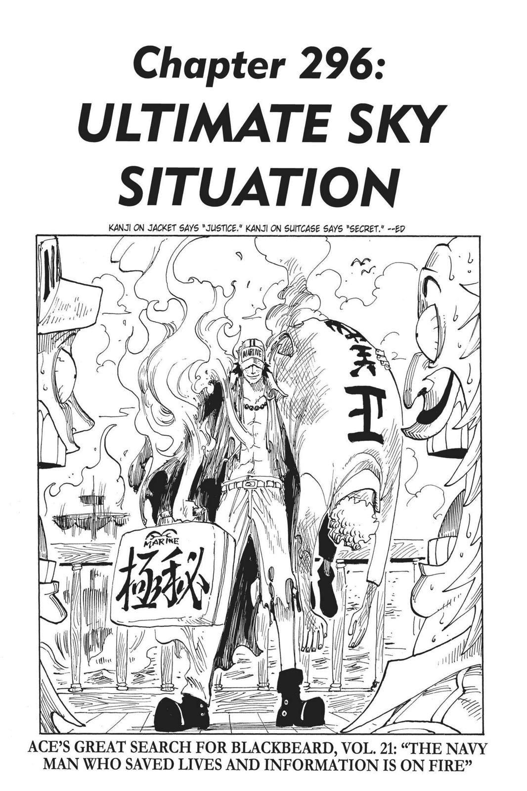One Piece, Chapter 296 image 007
