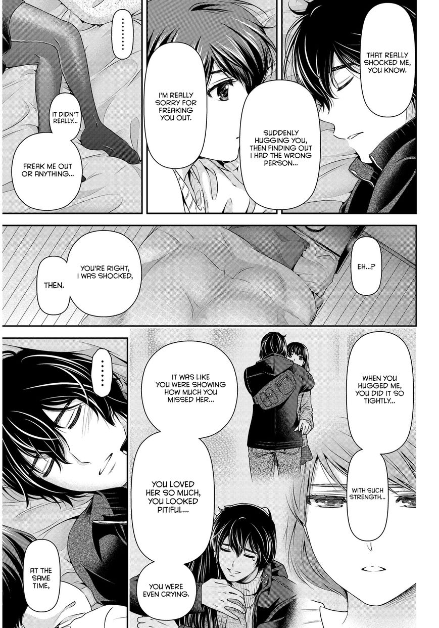 Domestic Girlfriend, Chapter 72 The Cinderella in the Bed image 008