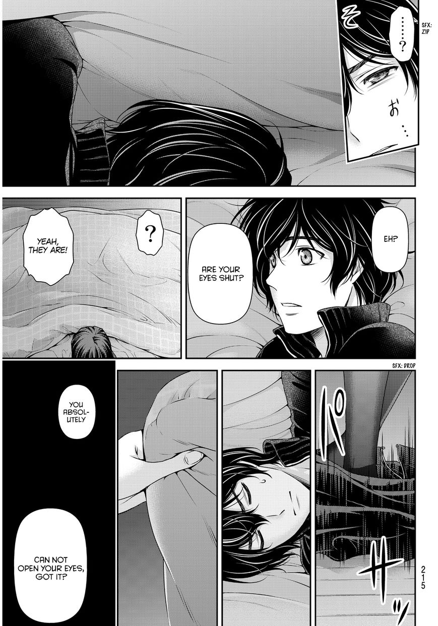 Domestic Girlfriend, Chapter 72 The Cinderella in the Bed image 012