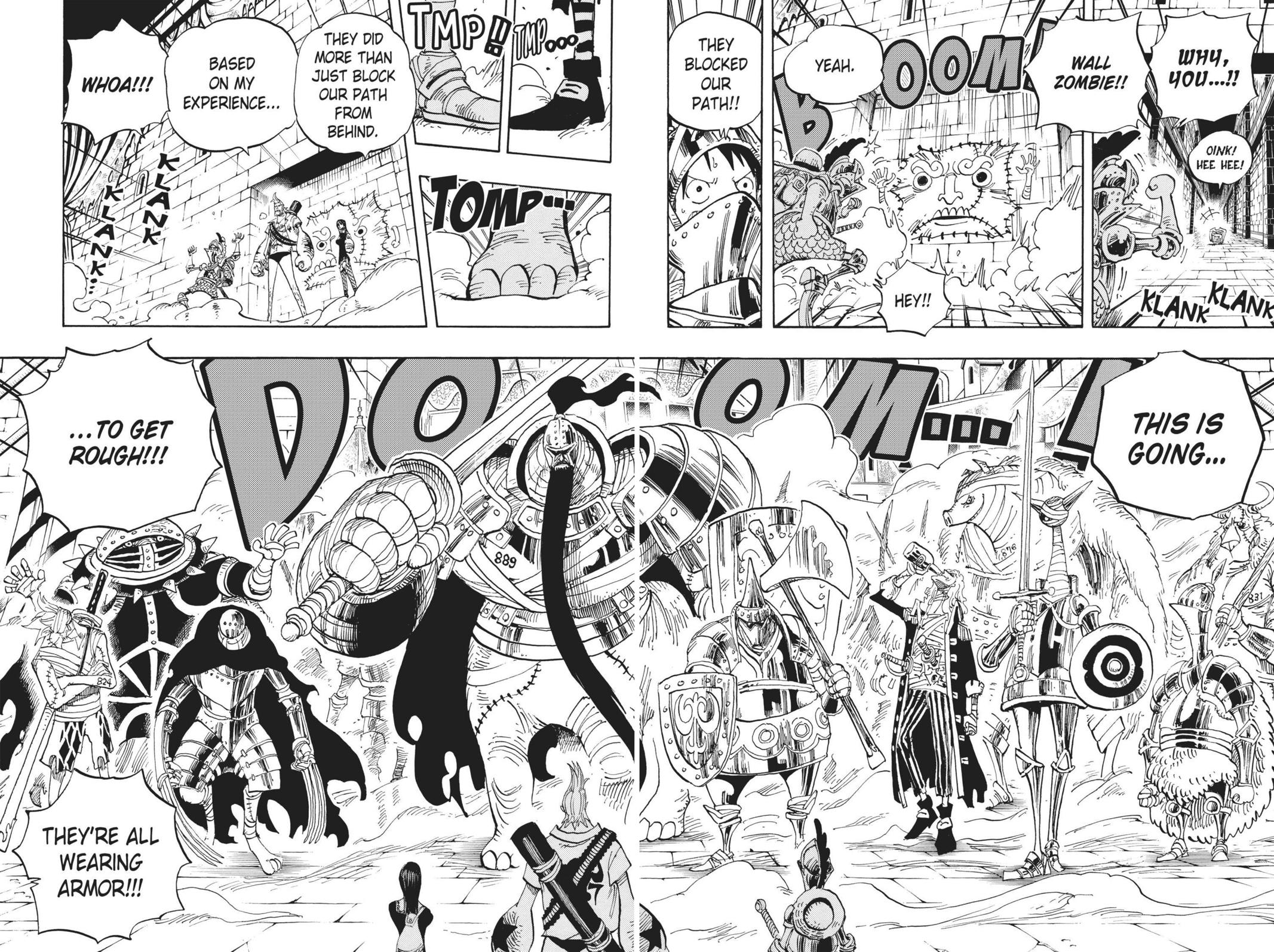One Piece, Chapter 452 image 010