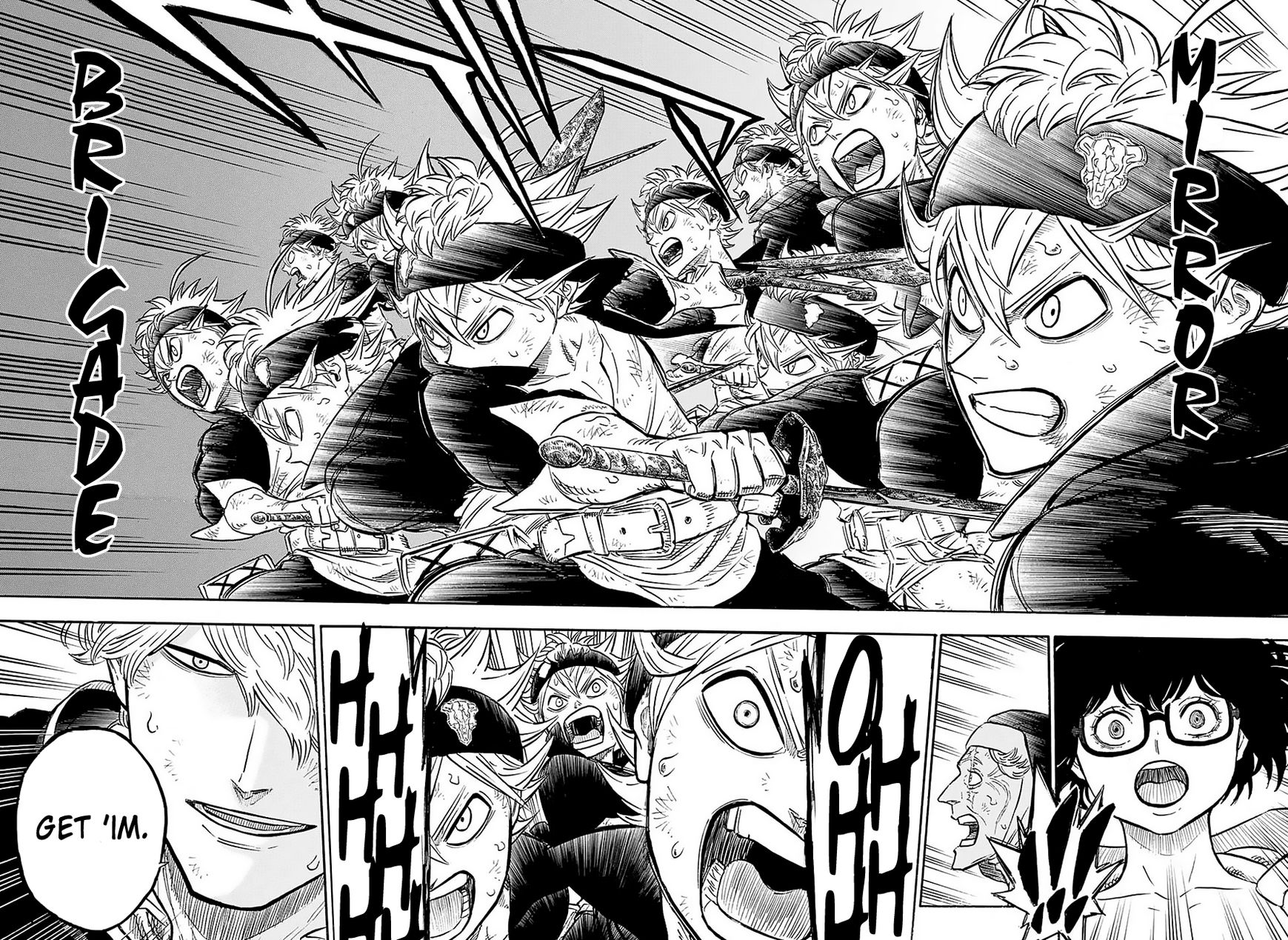 Black Clover, Chapter 45 One Day You'll Protect Someone Else image 016